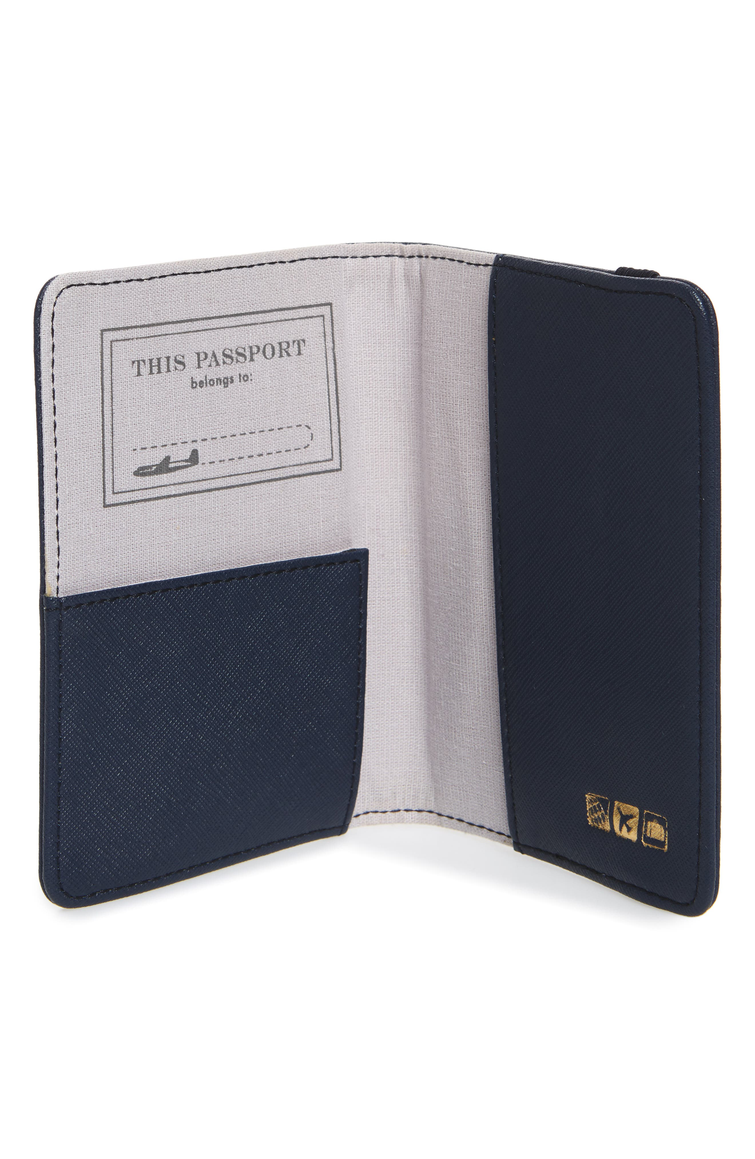 Correspondent Passport Cover,                             Alternate thumbnail 5, color,