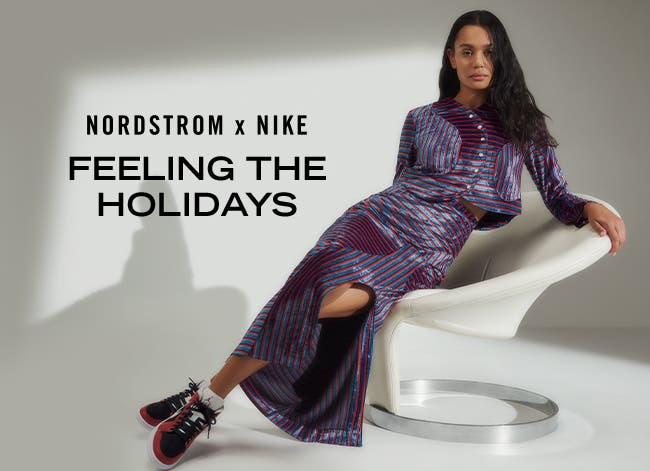 Feeling the holidays in Nike and more.