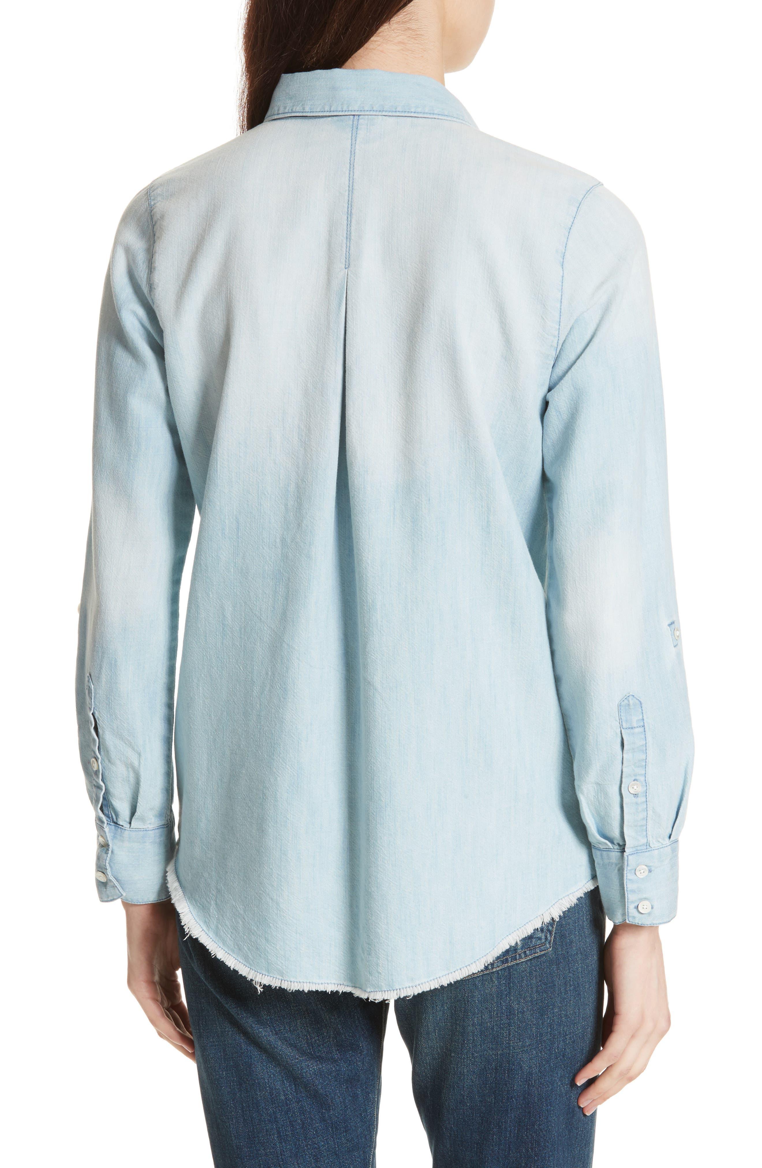 Onyx B Chambray Shirt,                             Alternate thumbnail 2, color,                             481