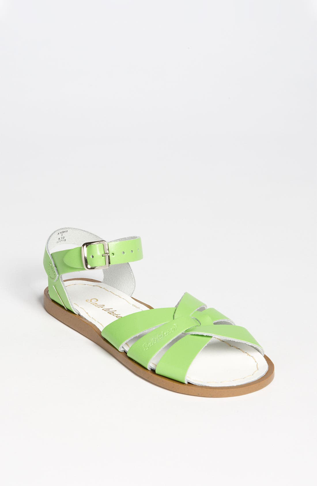 Water Friendly Sandal,                             Main thumbnail 1, color,                             LIME