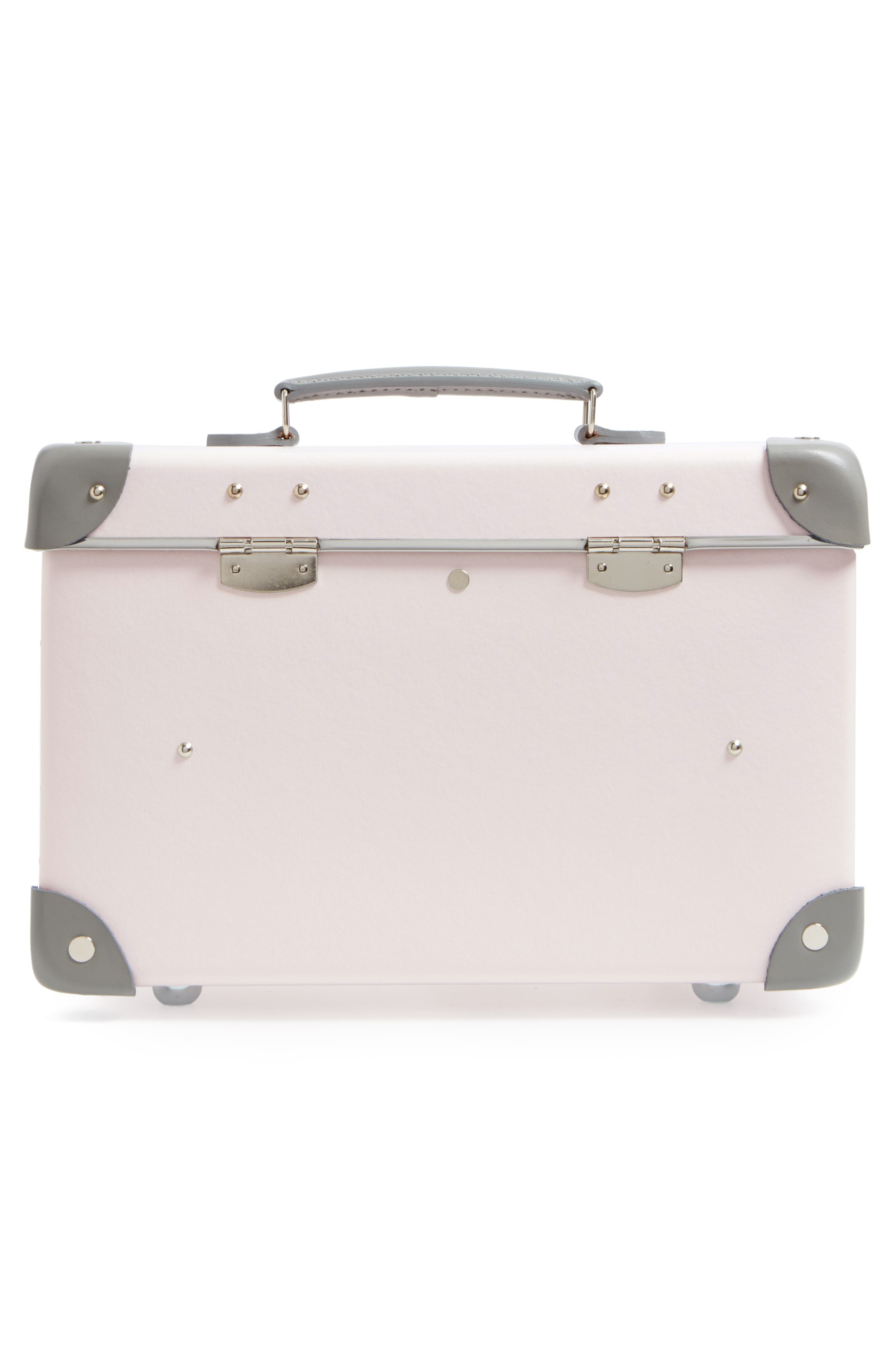 Blossom 13-Inch Vanity Case,                             Alternate thumbnail 4, color,                             PINK/GREY