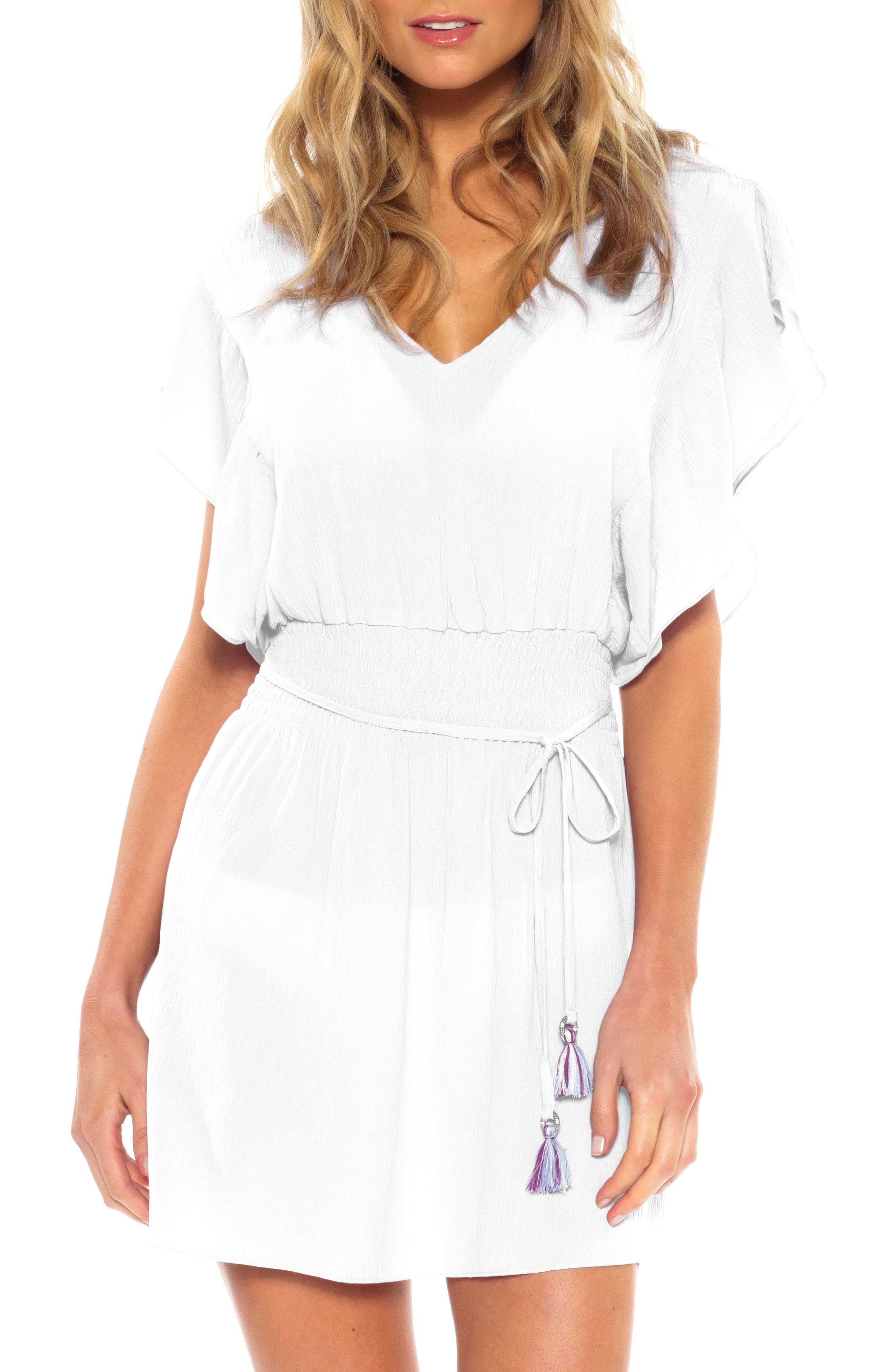 Becca Palermo Cover-Up Dress, White