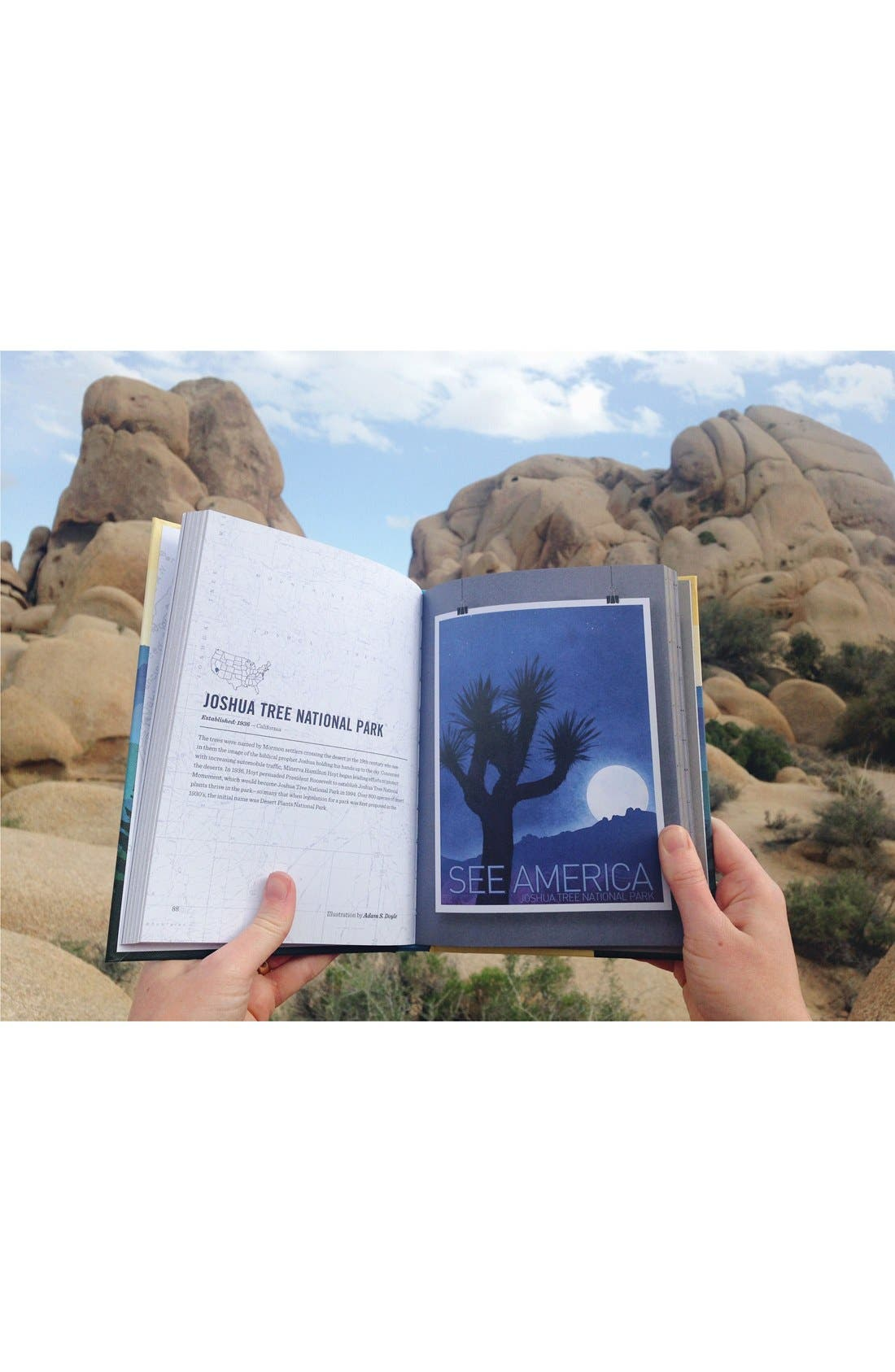 'See America - A Celebration of Our National Parks & Treasured Sites' Book,                             Alternate thumbnail 6, color,
