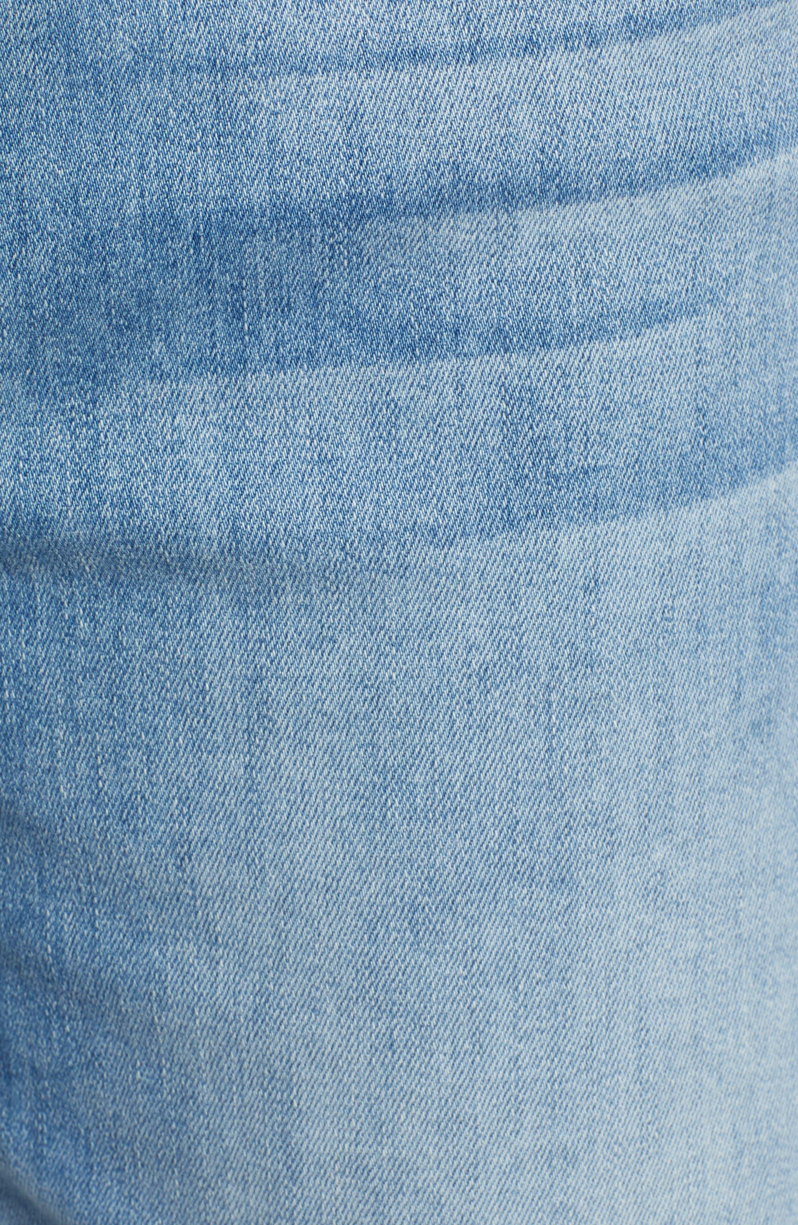 JEN7 BY 7 FOR ALL MANKIND,                             Roll Cuff Bermuda Shorts,                             Alternate thumbnail 5, color,                             LA QUINTA