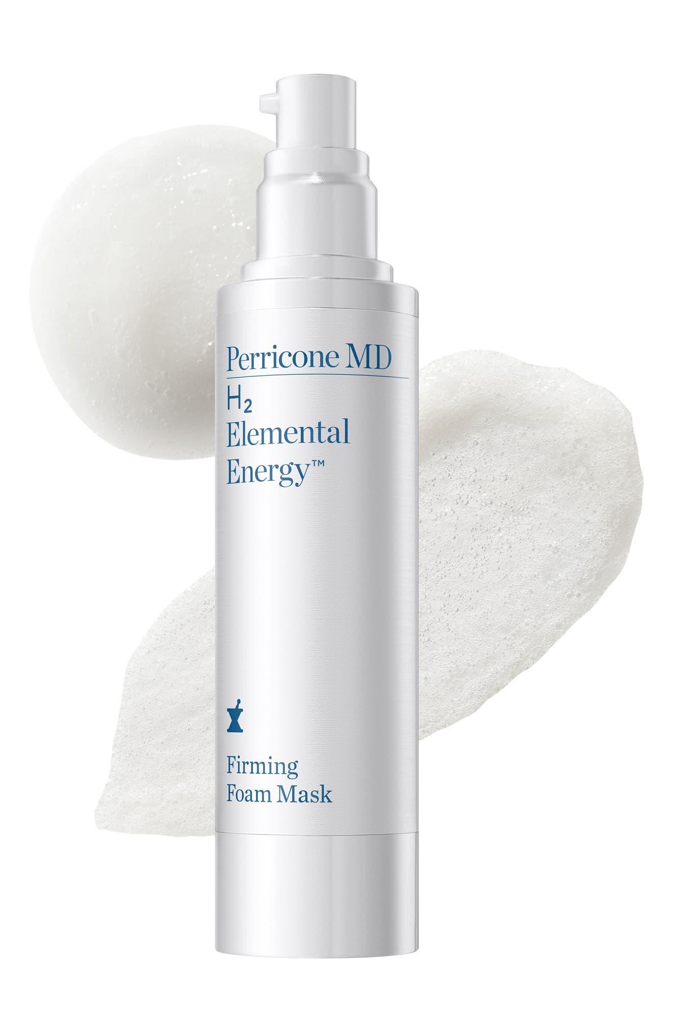 H2 Elemental Energy Firming Foam Mask,                             Alternate thumbnail 4, color,                             000