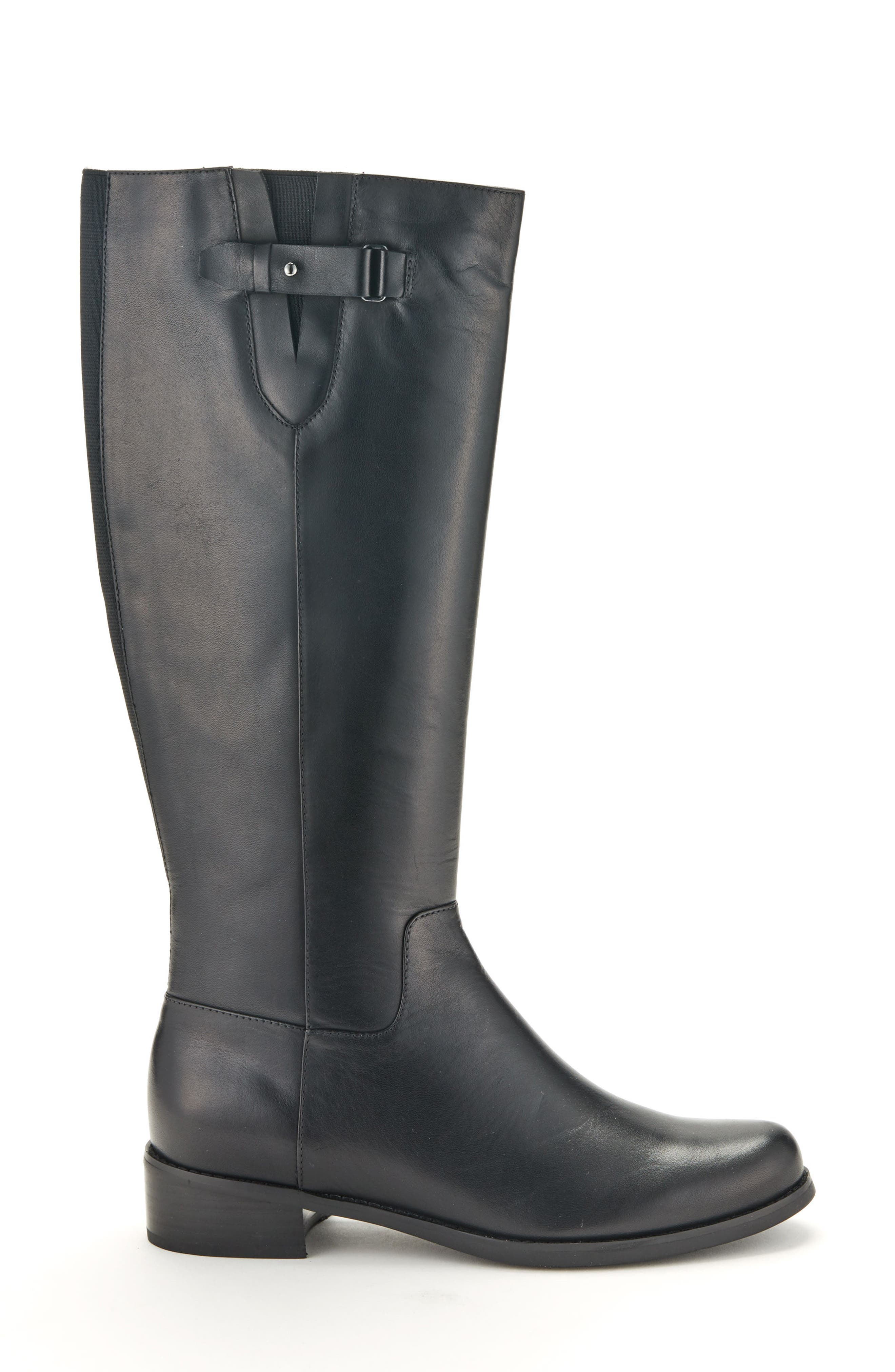Volly Waterproof Riding Boot,                             Alternate thumbnail 3, color,                             001
