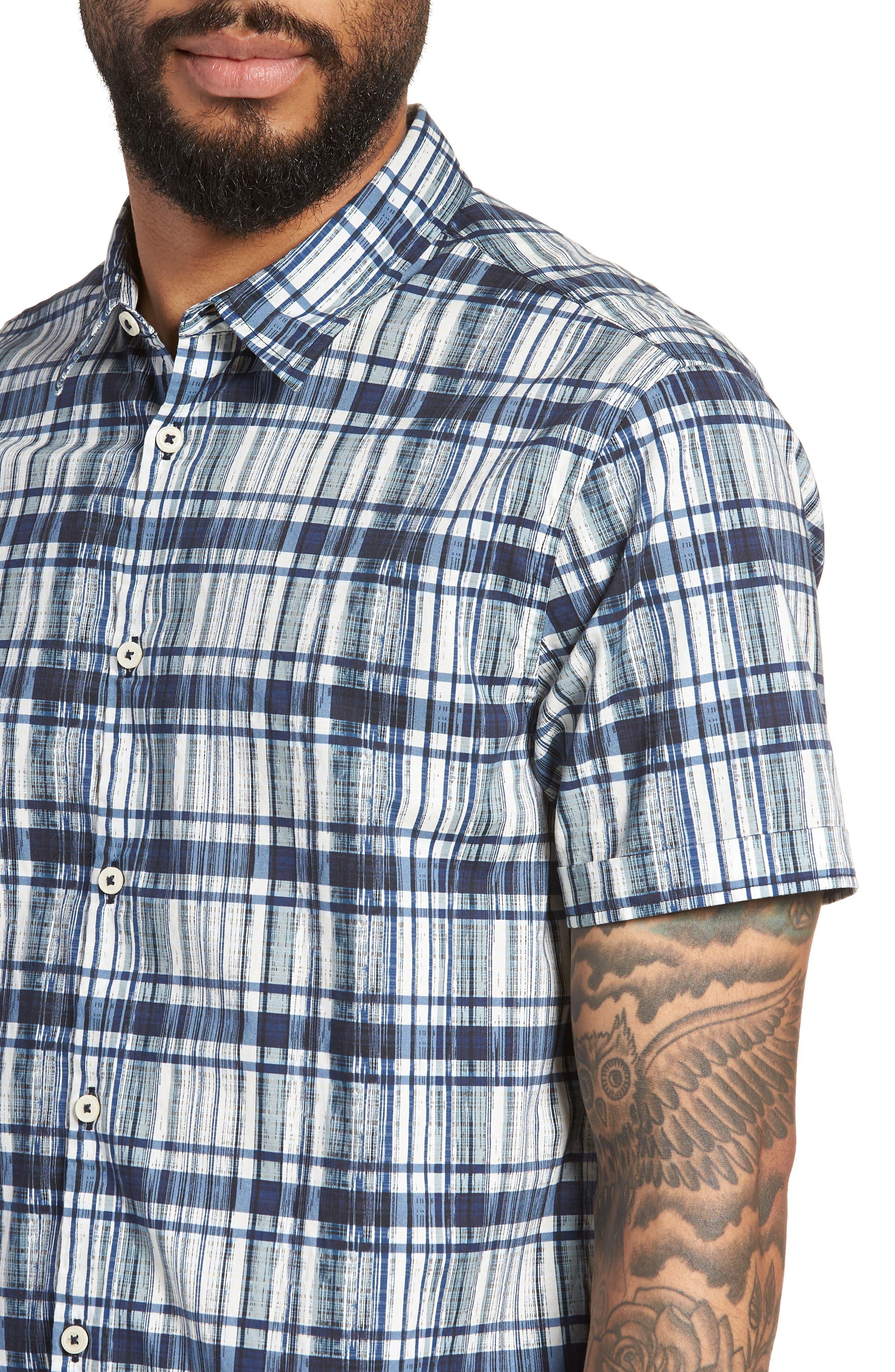 Regular Fit Sport Shirt,                             Alternate thumbnail 4, color,                             417