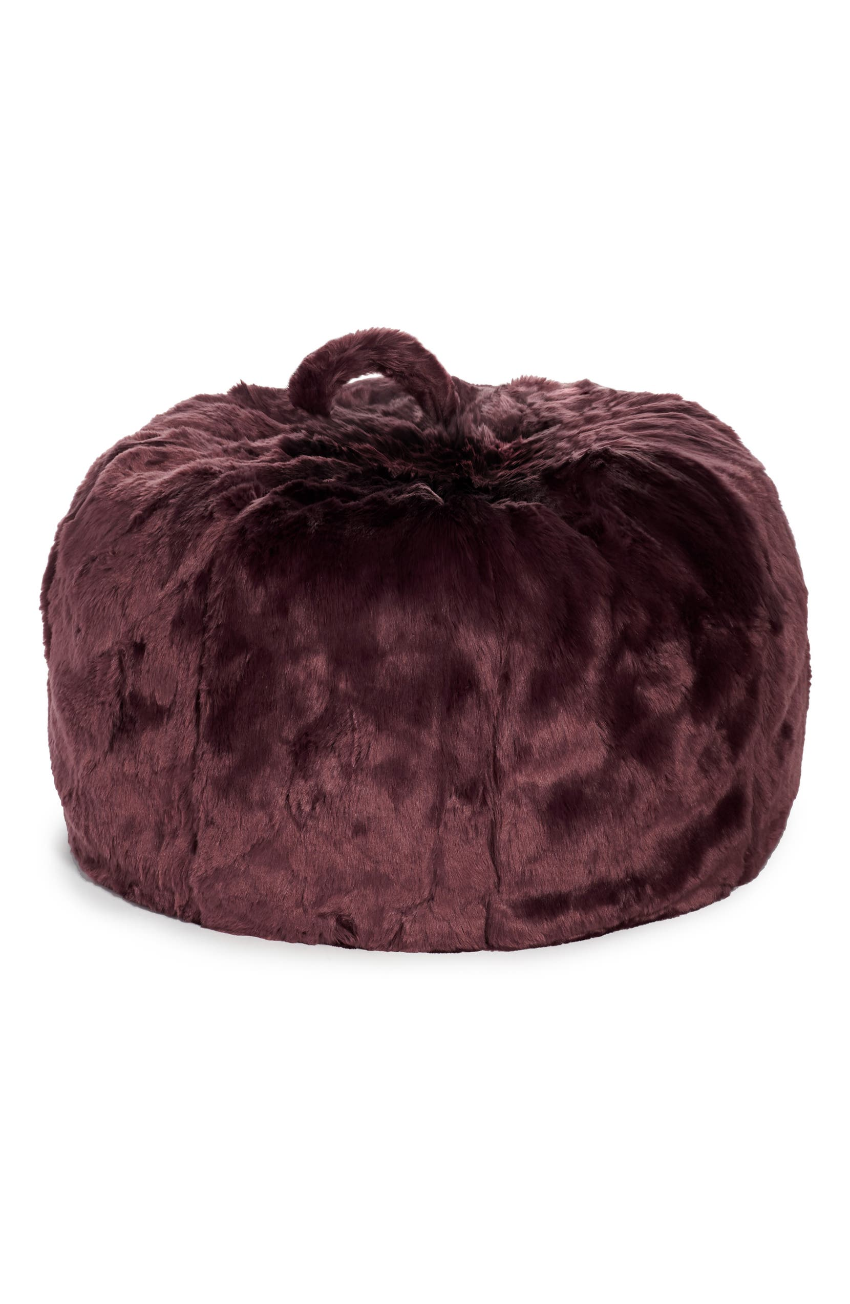 Nordstrom At Home Cuddle Up Faux Fur Beanbag Chair Nordstrom