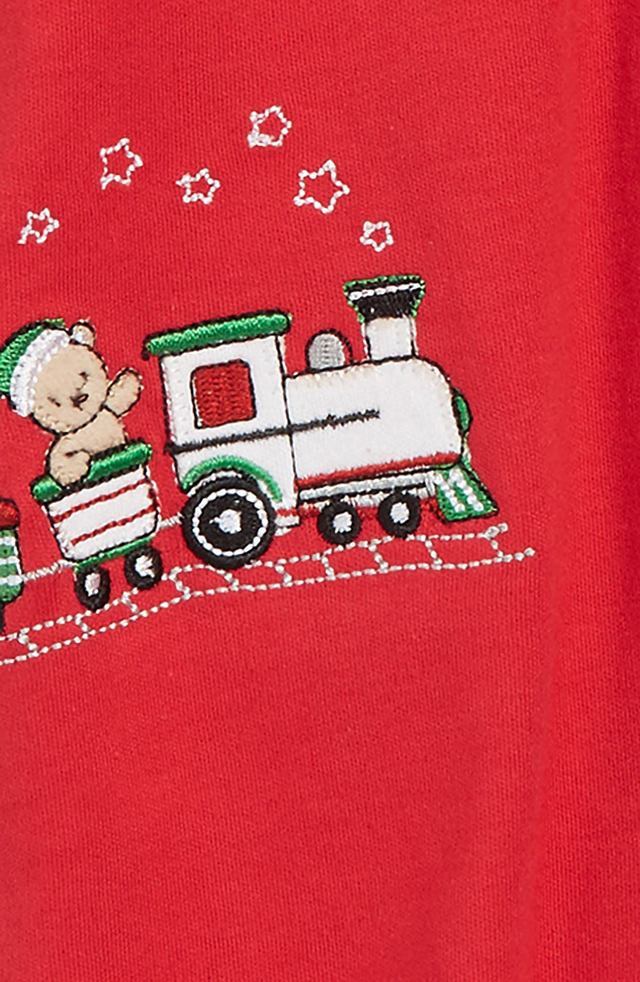 My First Christmas Footie & Hat Set,                             Alternate thumbnail 2, color,                             600