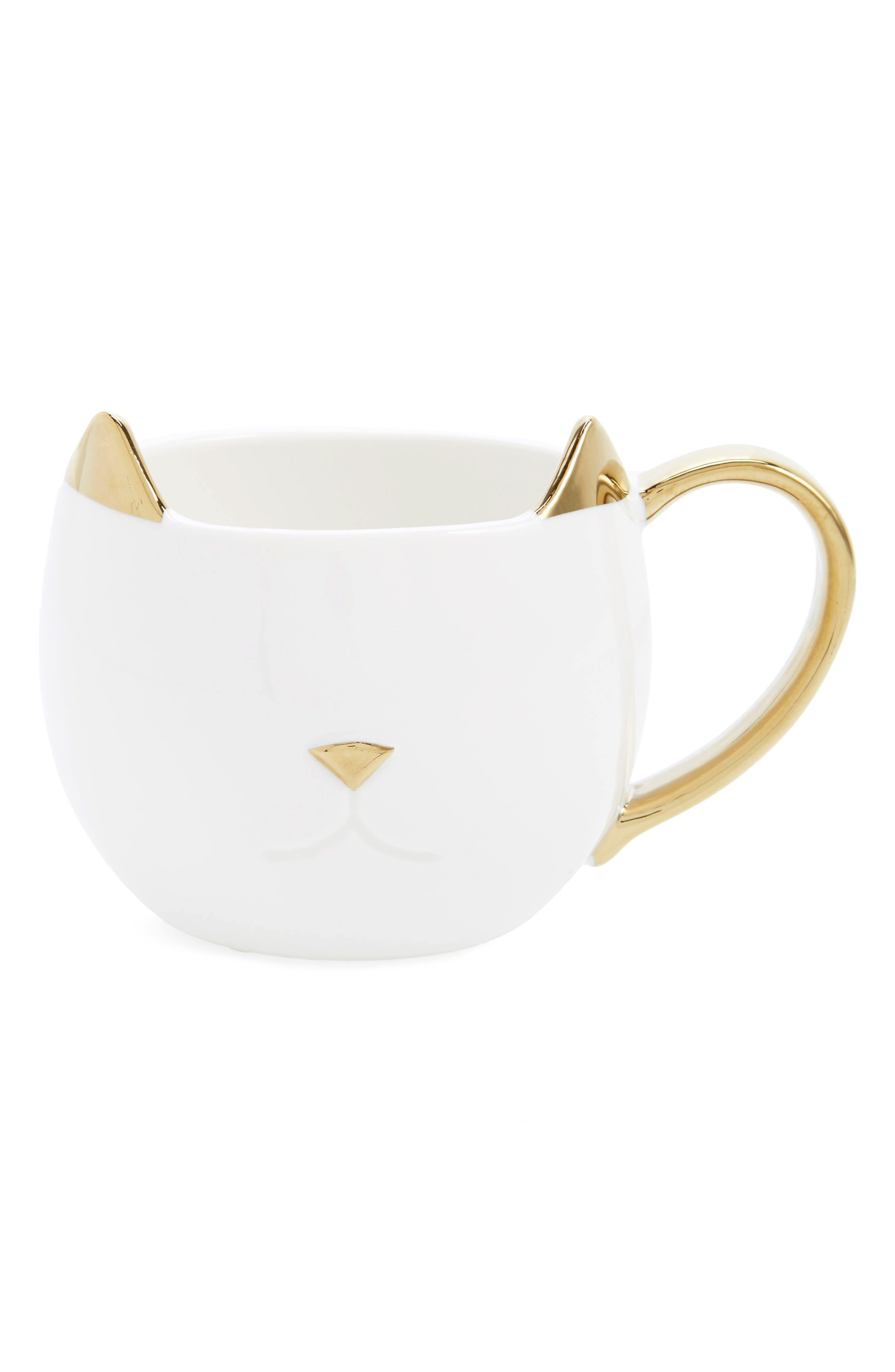 Chloe Cat Ceramic Mug,                             Main thumbnail 2, color,