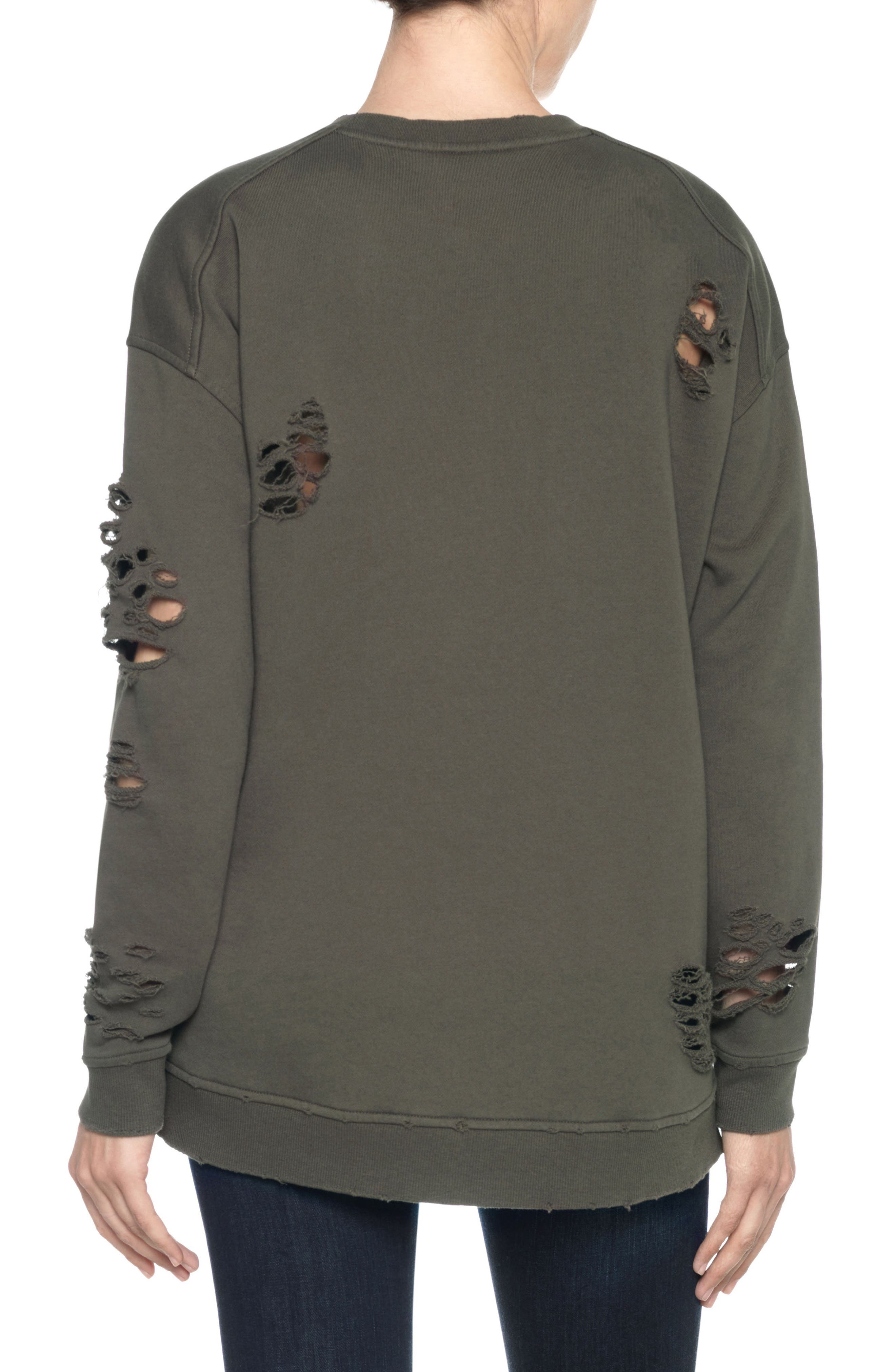 Lyndon Ripped Pullover,                             Alternate thumbnail 7, color,