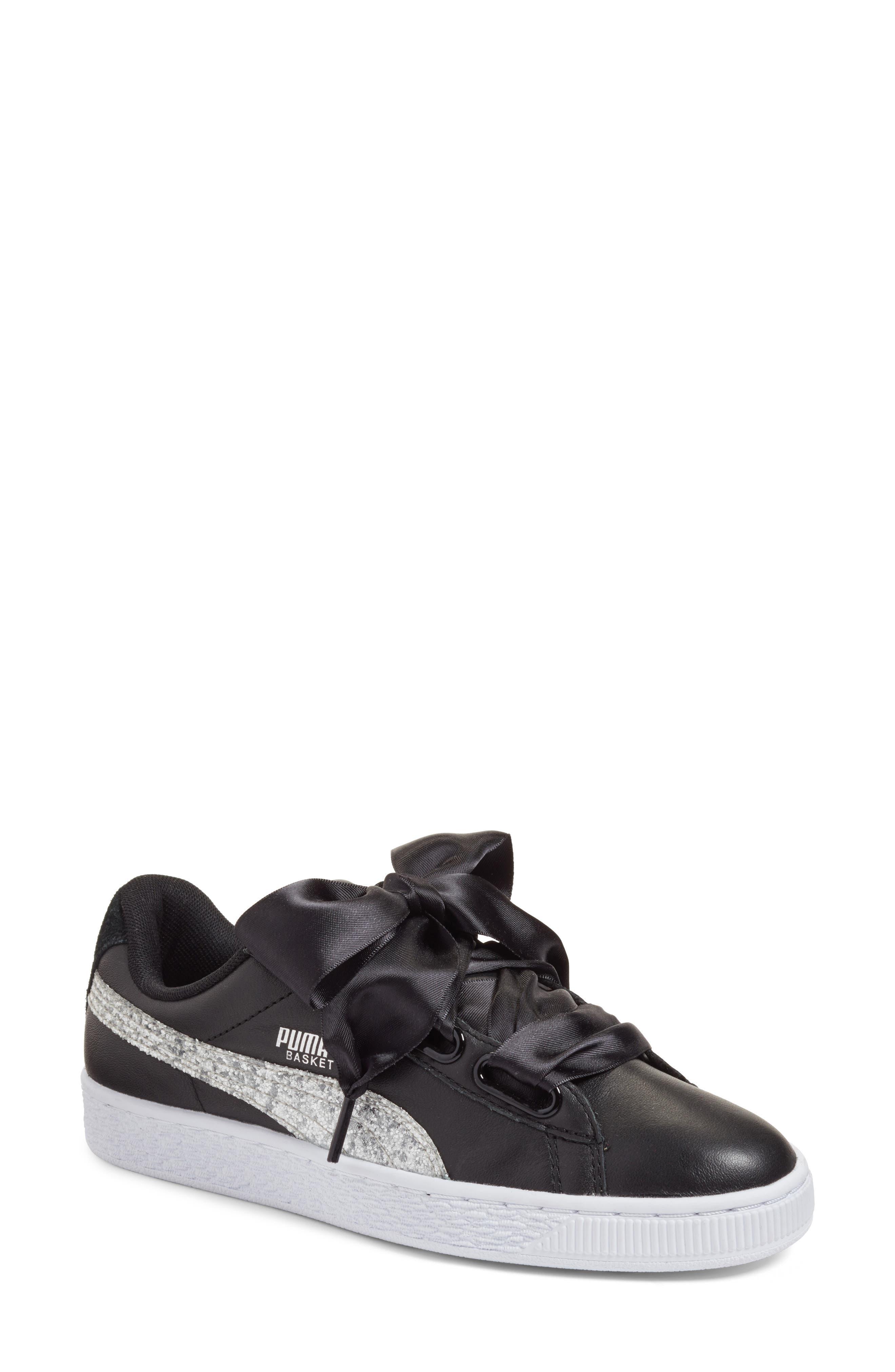 Basket Heart Sneaker,                         Main,                         color, 004