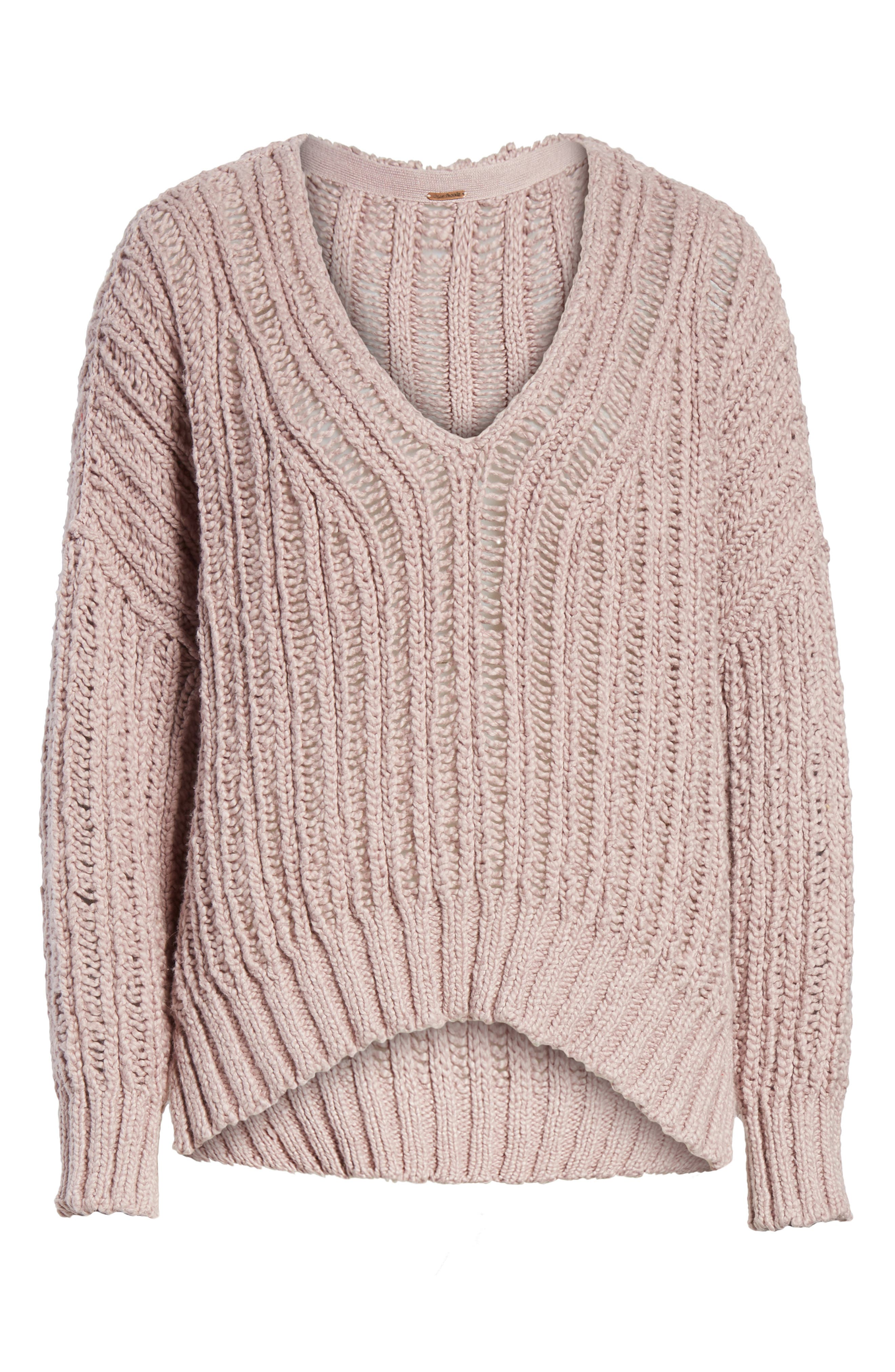 Infinite V-Neck Sweater,                             Alternate thumbnail 16, color,