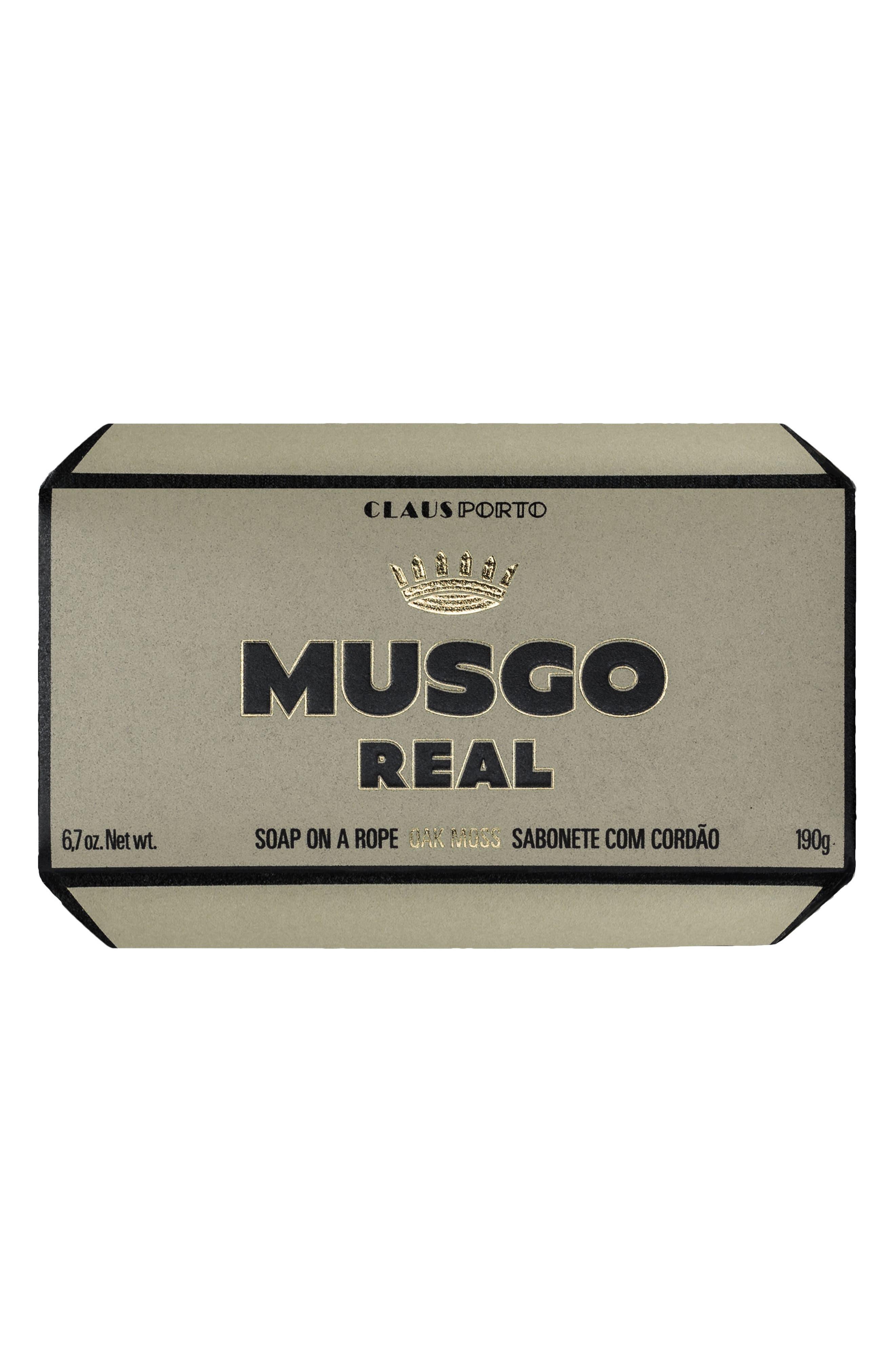 Oak Moss Soap on a Rope,                             Alternate thumbnail 2, color,                             000