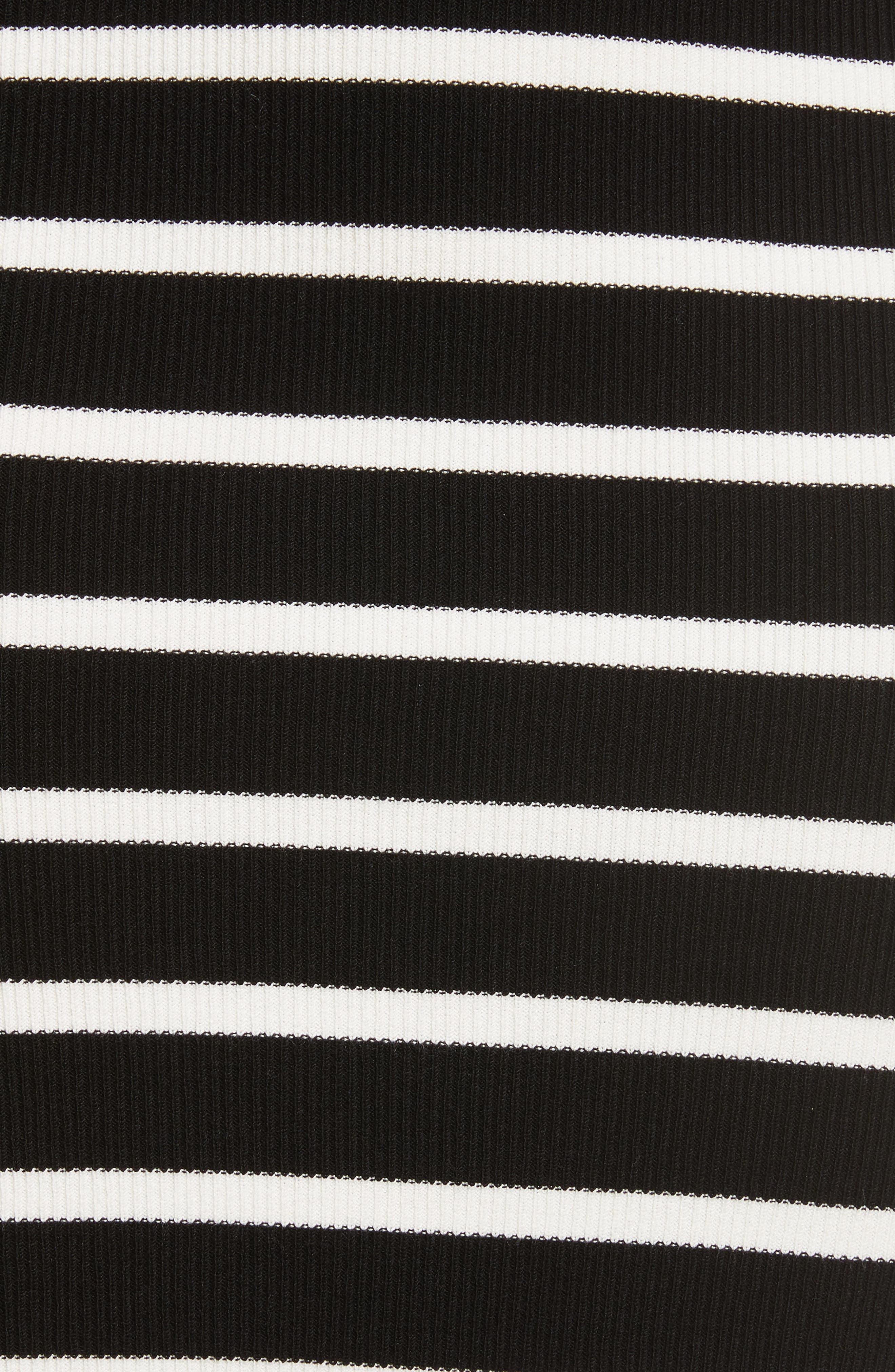 Prosecco Stripe Knit Dress,                             Alternate thumbnail 5, color,                             016