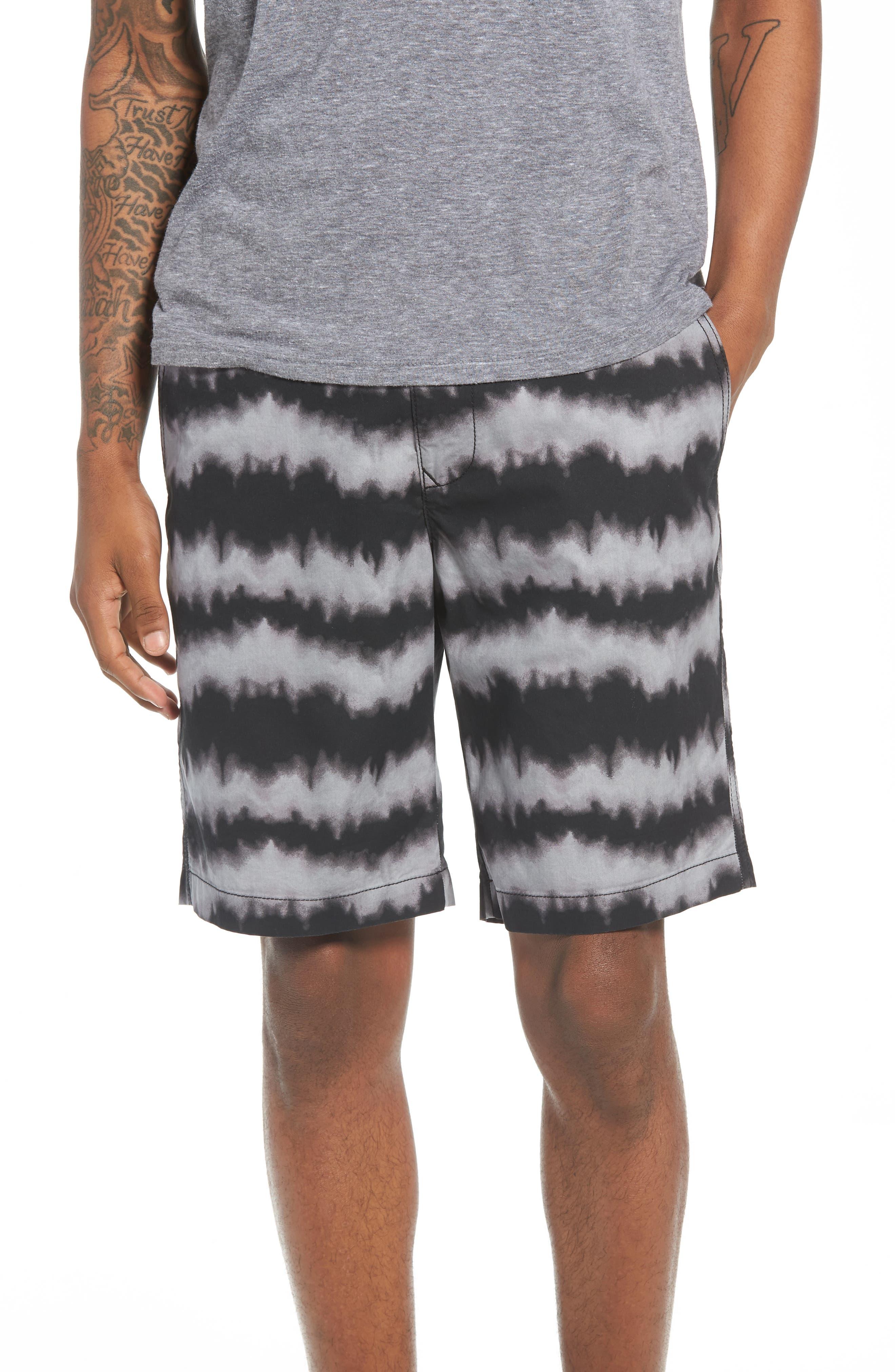 Wavelength Print Shorts,                         Main,                         color, 001