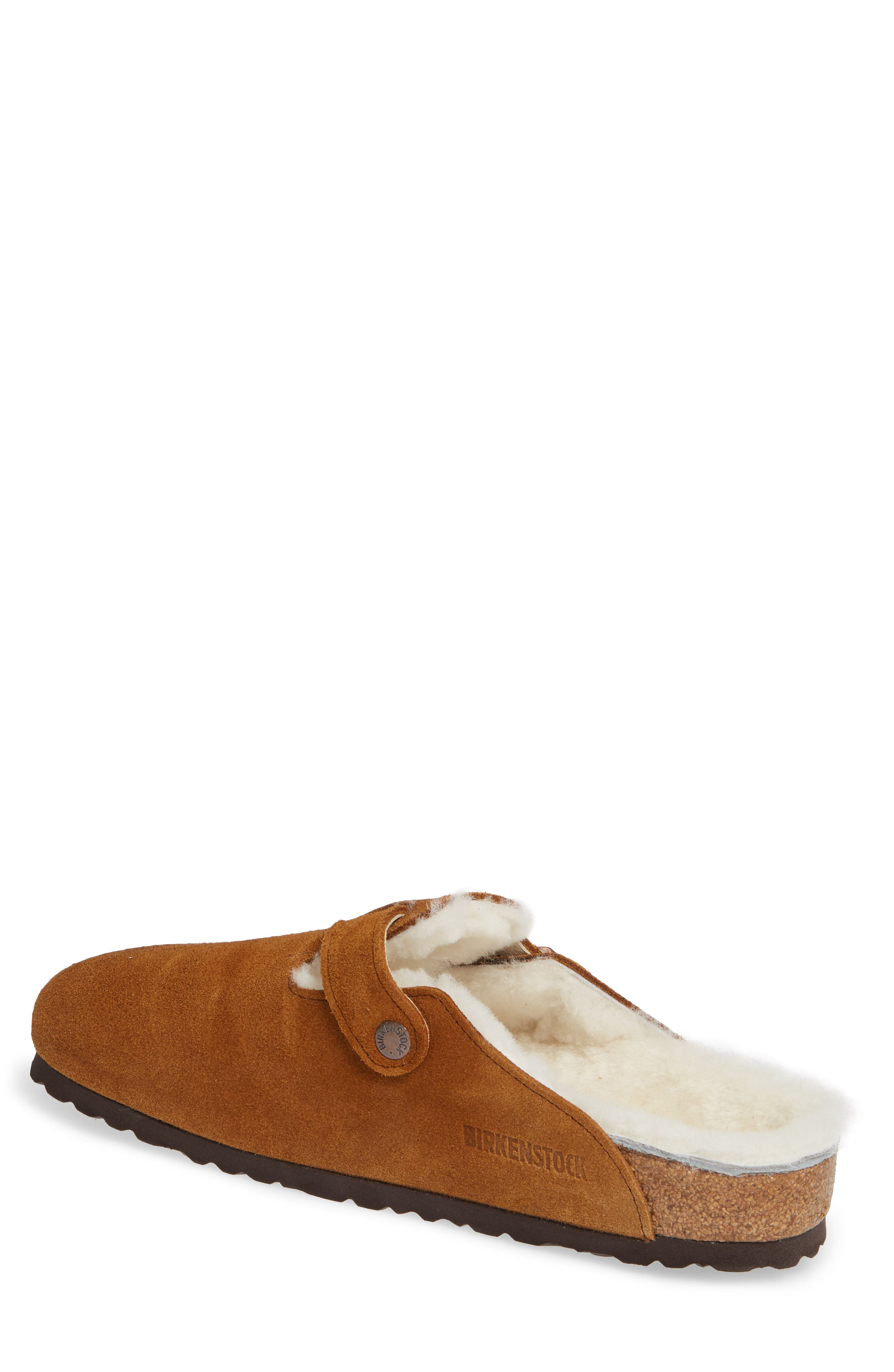 Boston Slip-On with Genuine Shearling Lining,                             Alternate thumbnail 2, color,                             BEIGE
