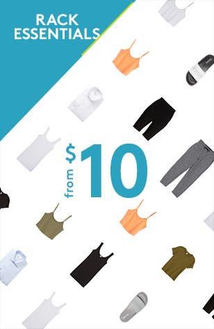 Rack Essentials from ten dollars.