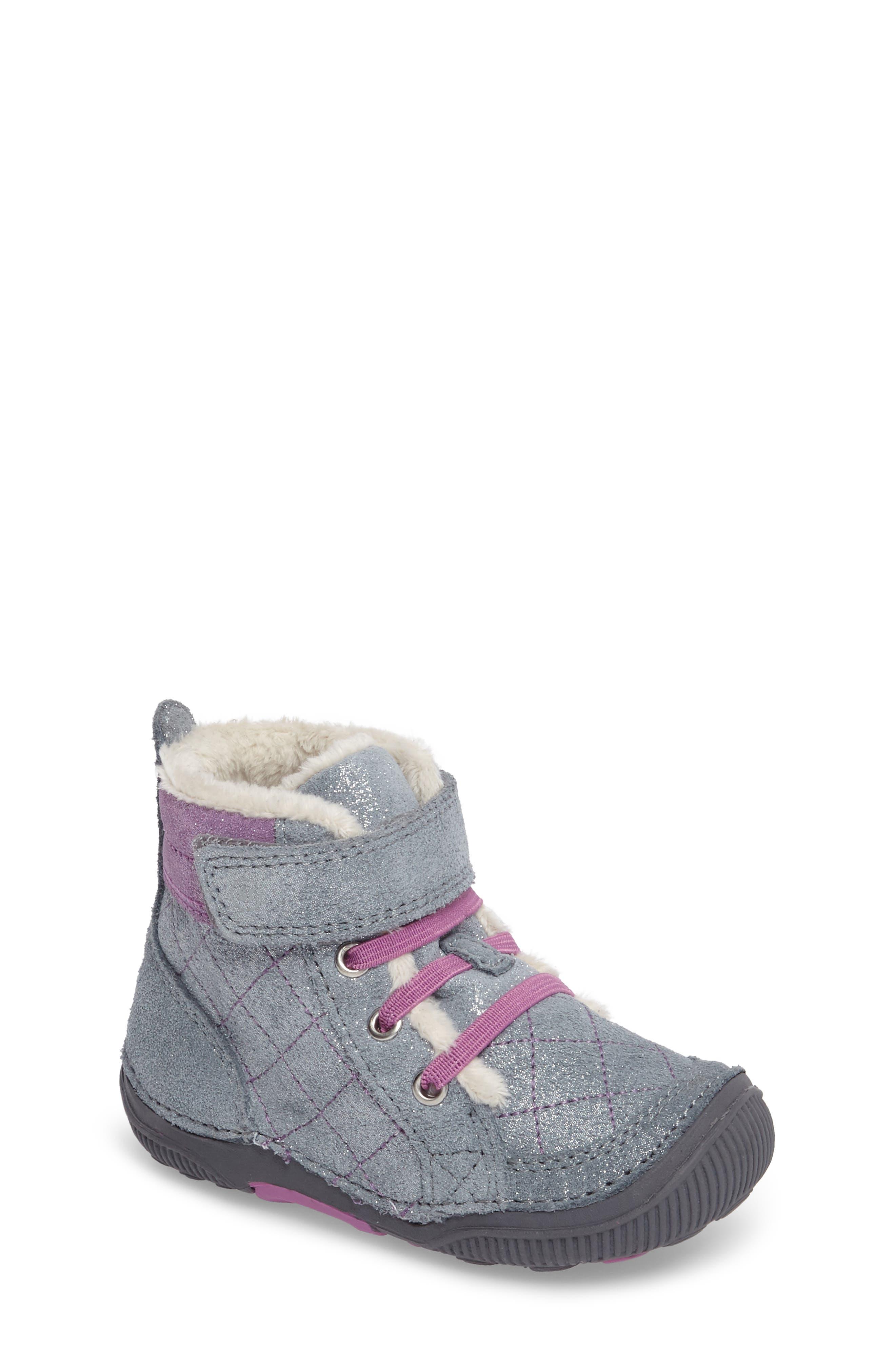 SRtech<sup>™</sup> Phoebe Faux Fur Boot,                             Main thumbnail 1, color,                             040