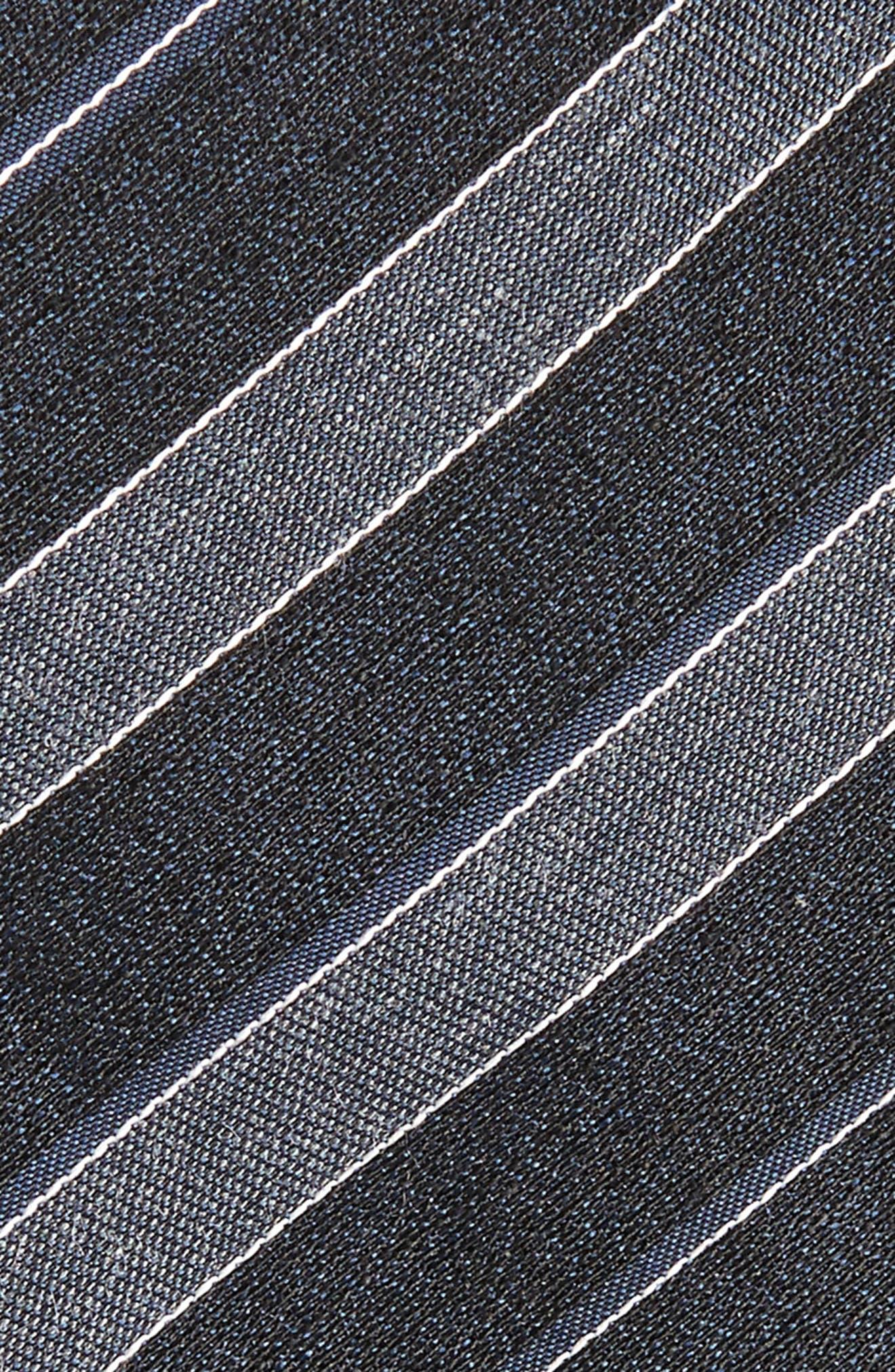 Stripe Silk Blend Tie,                             Alternate thumbnail 2, color,                             021