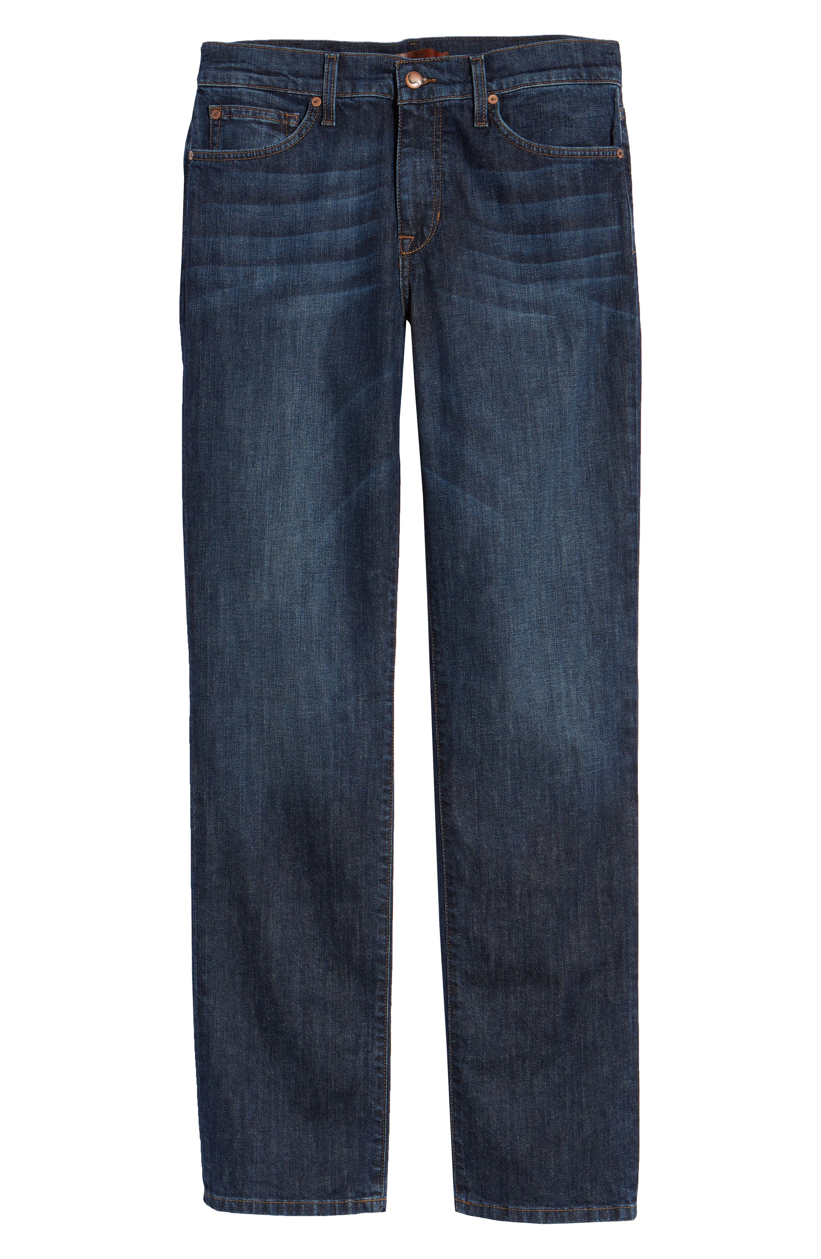 Classic Straight Fit Jeans,                             Alternate thumbnail 6, color,                             DREXLER