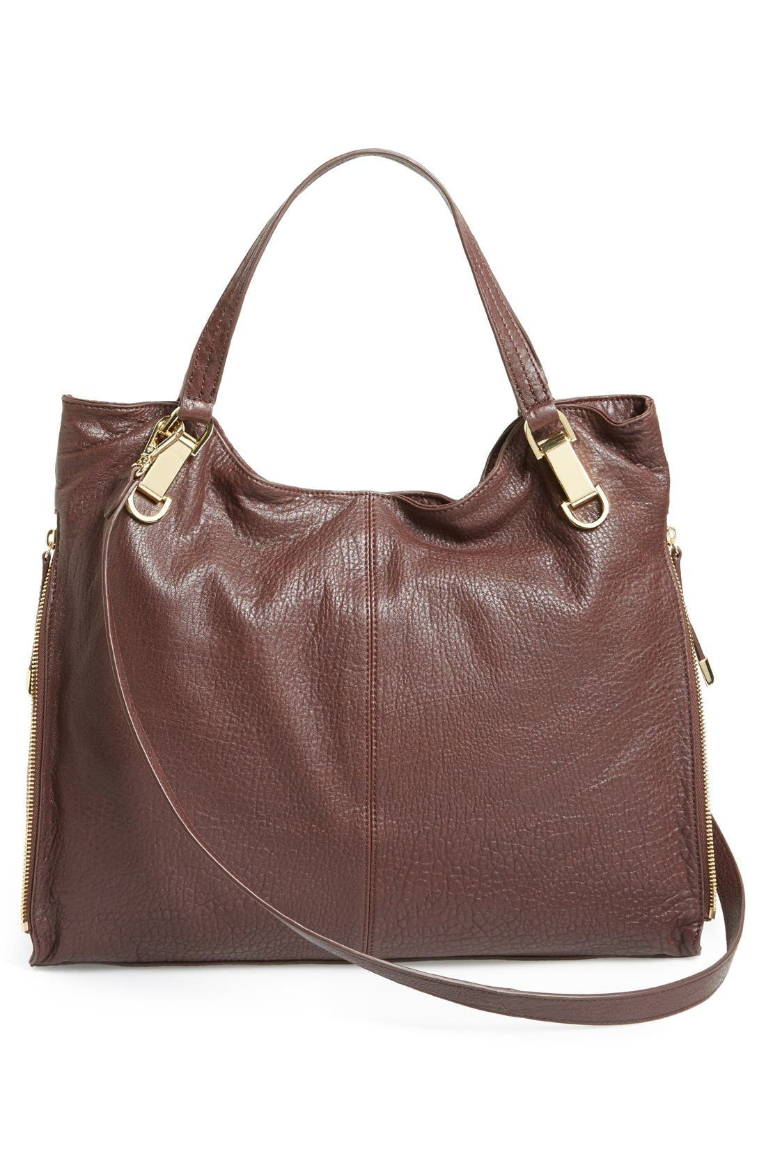 'Riley' Leather Tote,                             Alternate thumbnail 32, color,