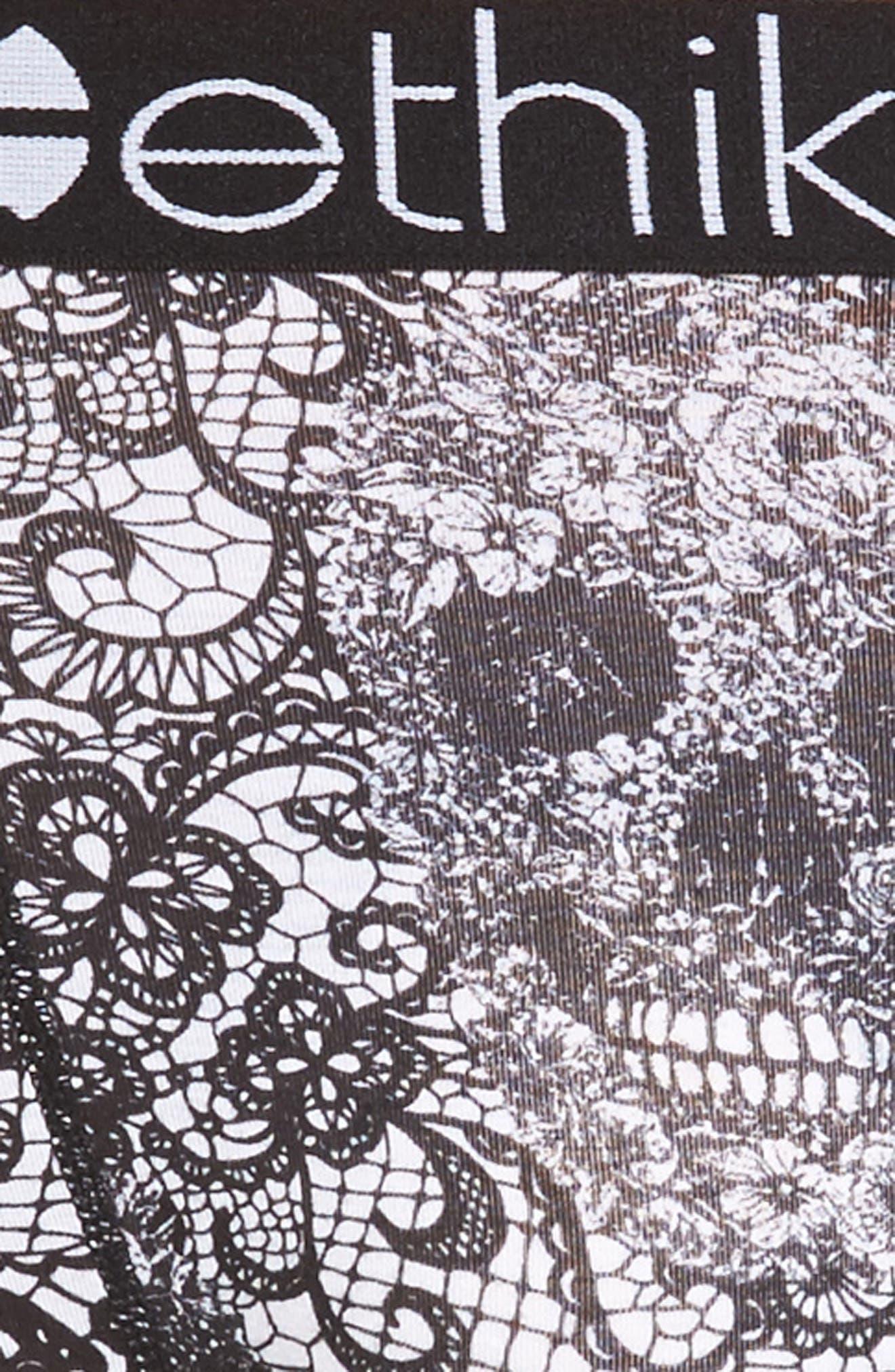 Dead Man's Lace Boxer Briefs,                             Alternate thumbnail 4, color,                             002
