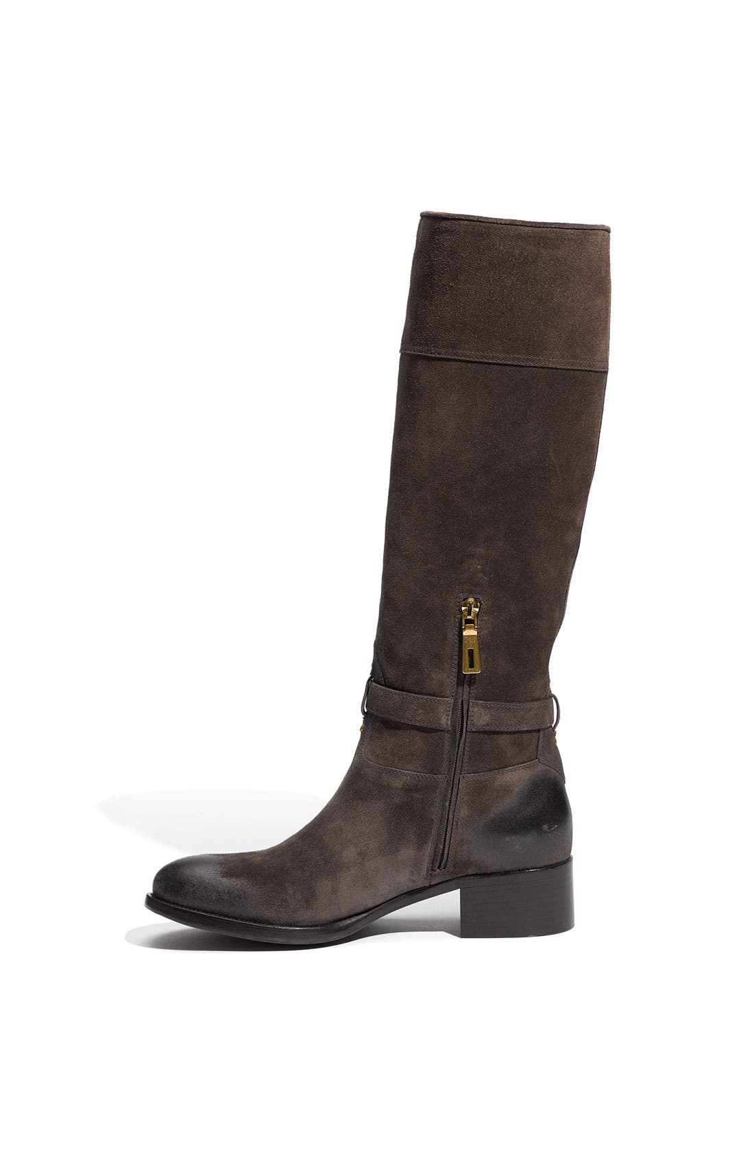 Leather Riding Boot,                             Alternate thumbnail 2, color,                             020