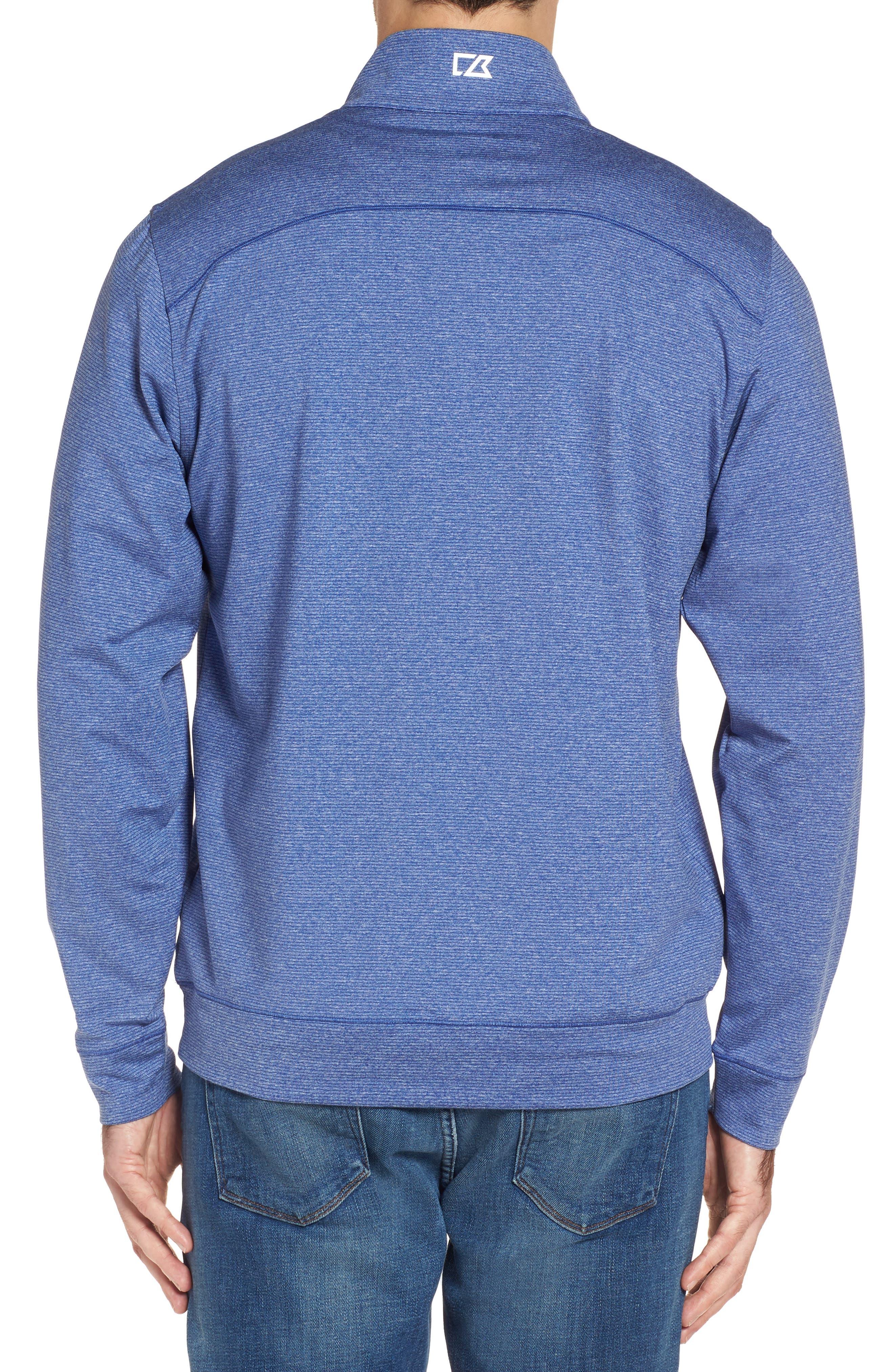 Shoreline - New York Giants Half Zip Pullover,                             Alternate thumbnail 2, color,                             425