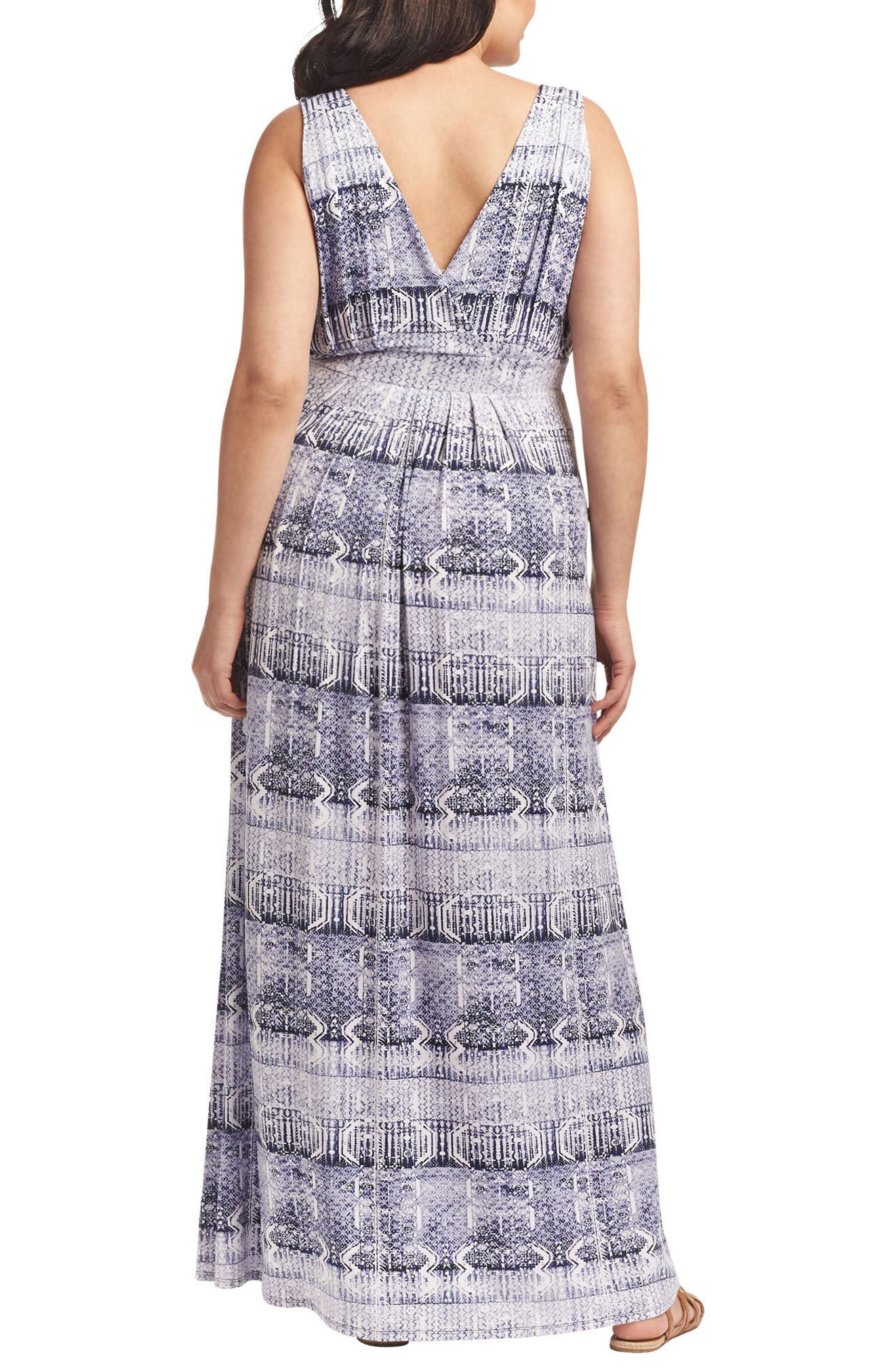 Chloe Empire Waist Maxi Dress,                             Alternate thumbnail 37, color,