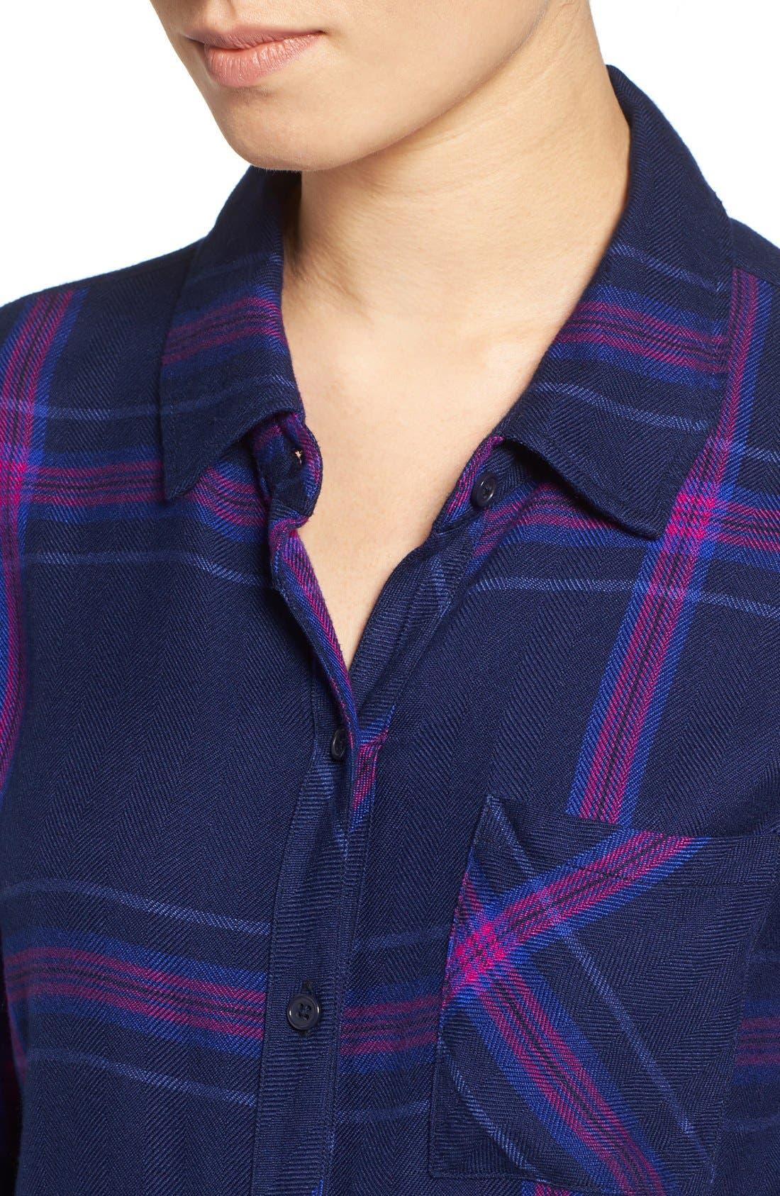 Hunter Plaid Shirt,                             Alternate thumbnail 257, color,