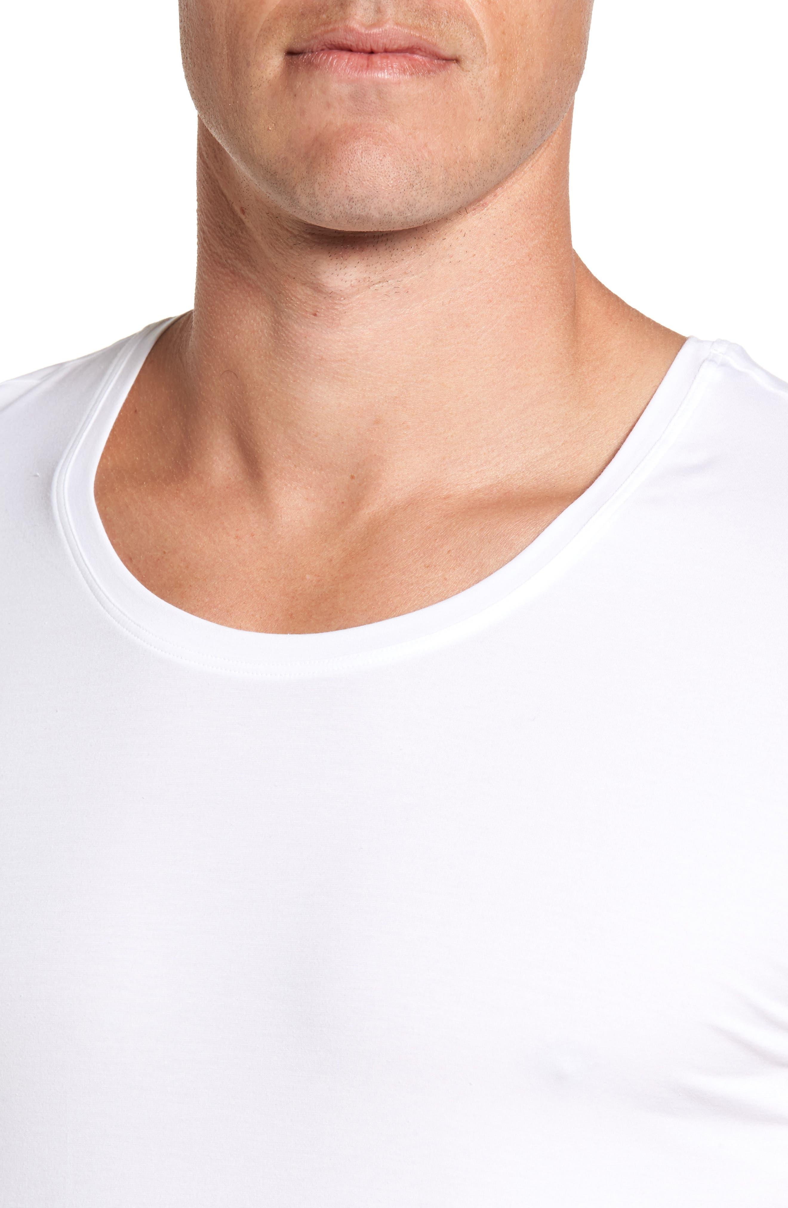 Cotton Superior Crewneck T-Shirt,                             Alternate thumbnail 4, color,