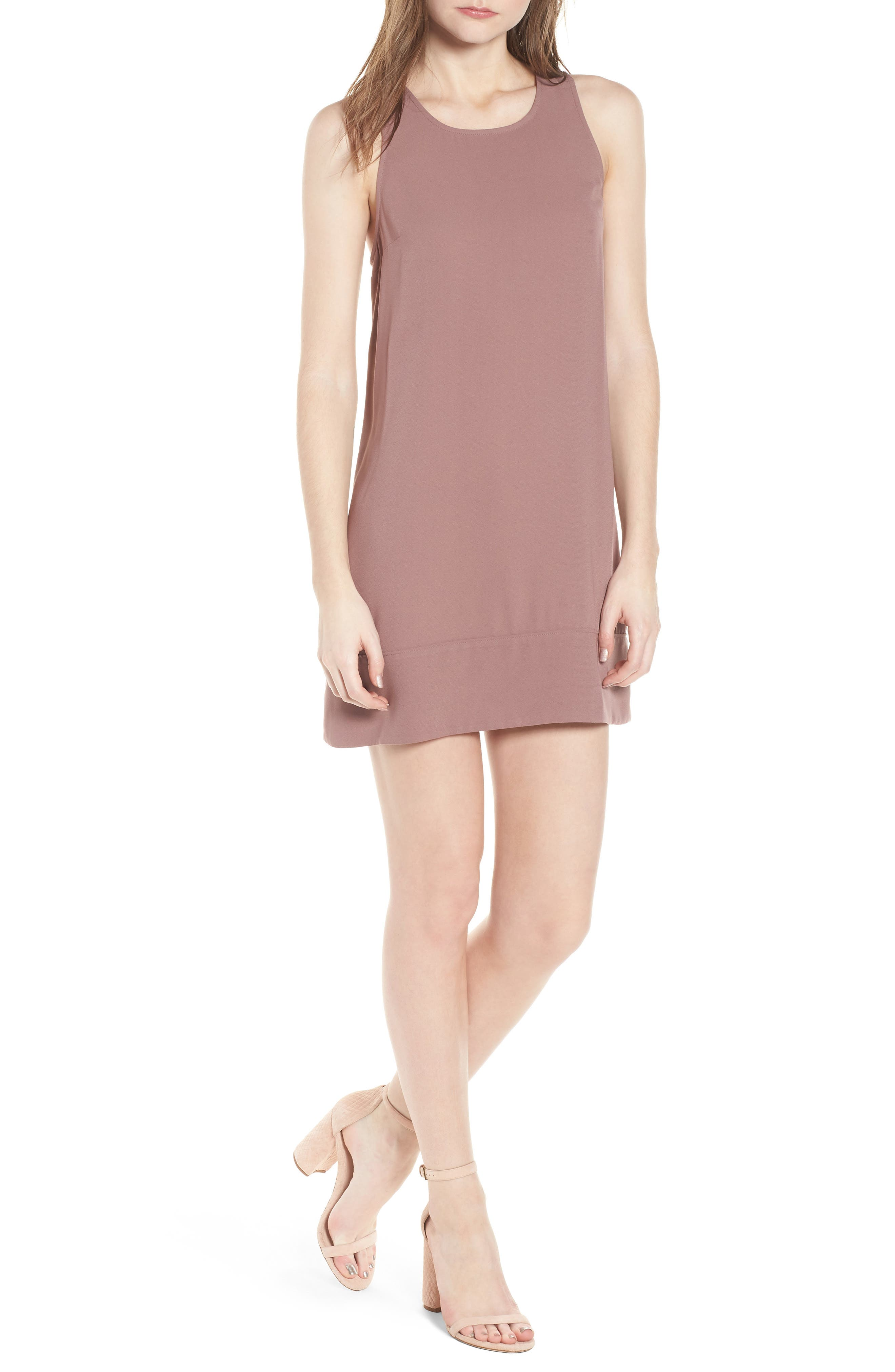 Racerback Shift Dress,                             Main thumbnail 15, color,