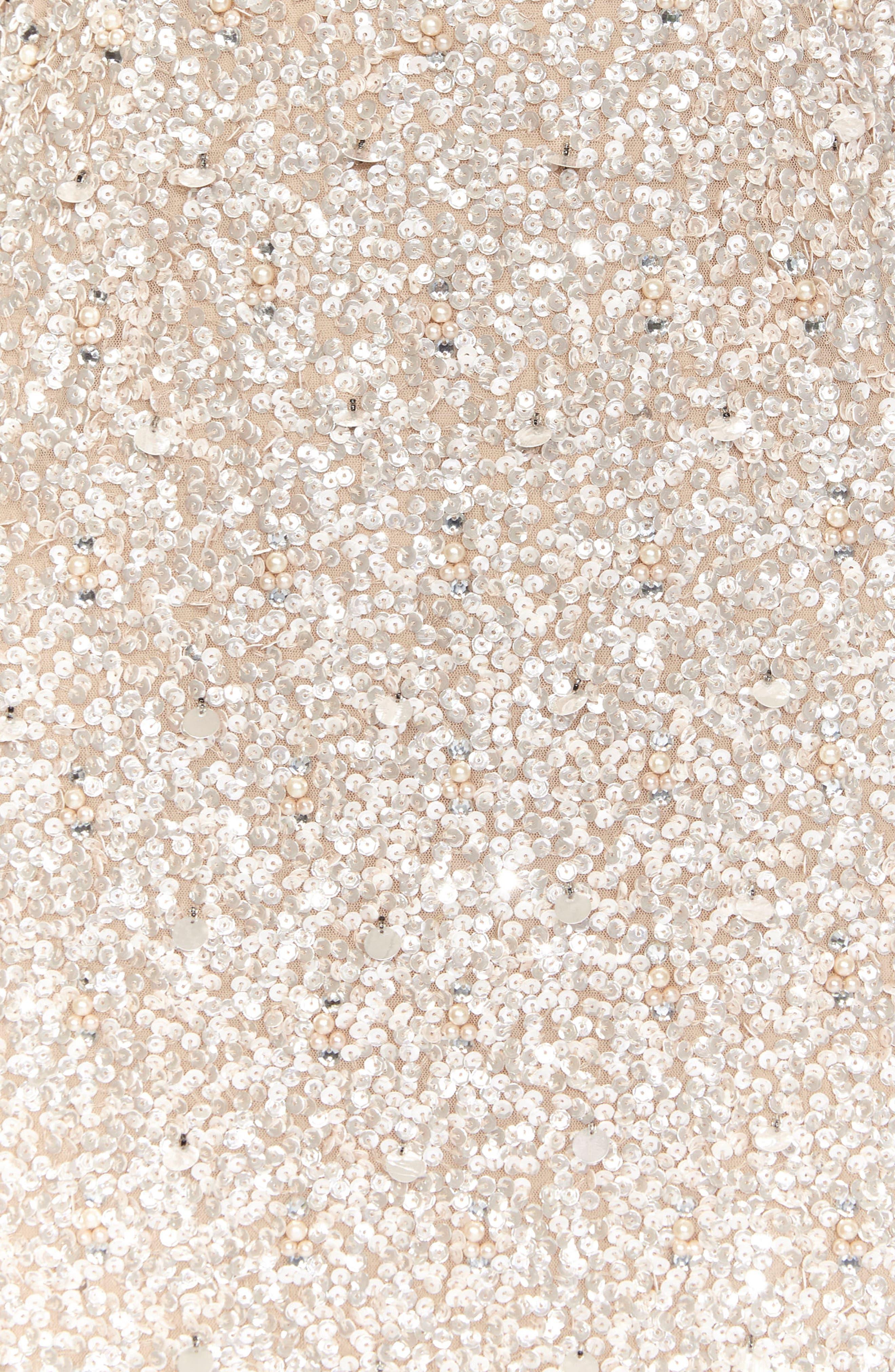 Pica Sequin Minidress,                             Alternate thumbnail 3, color,                             250