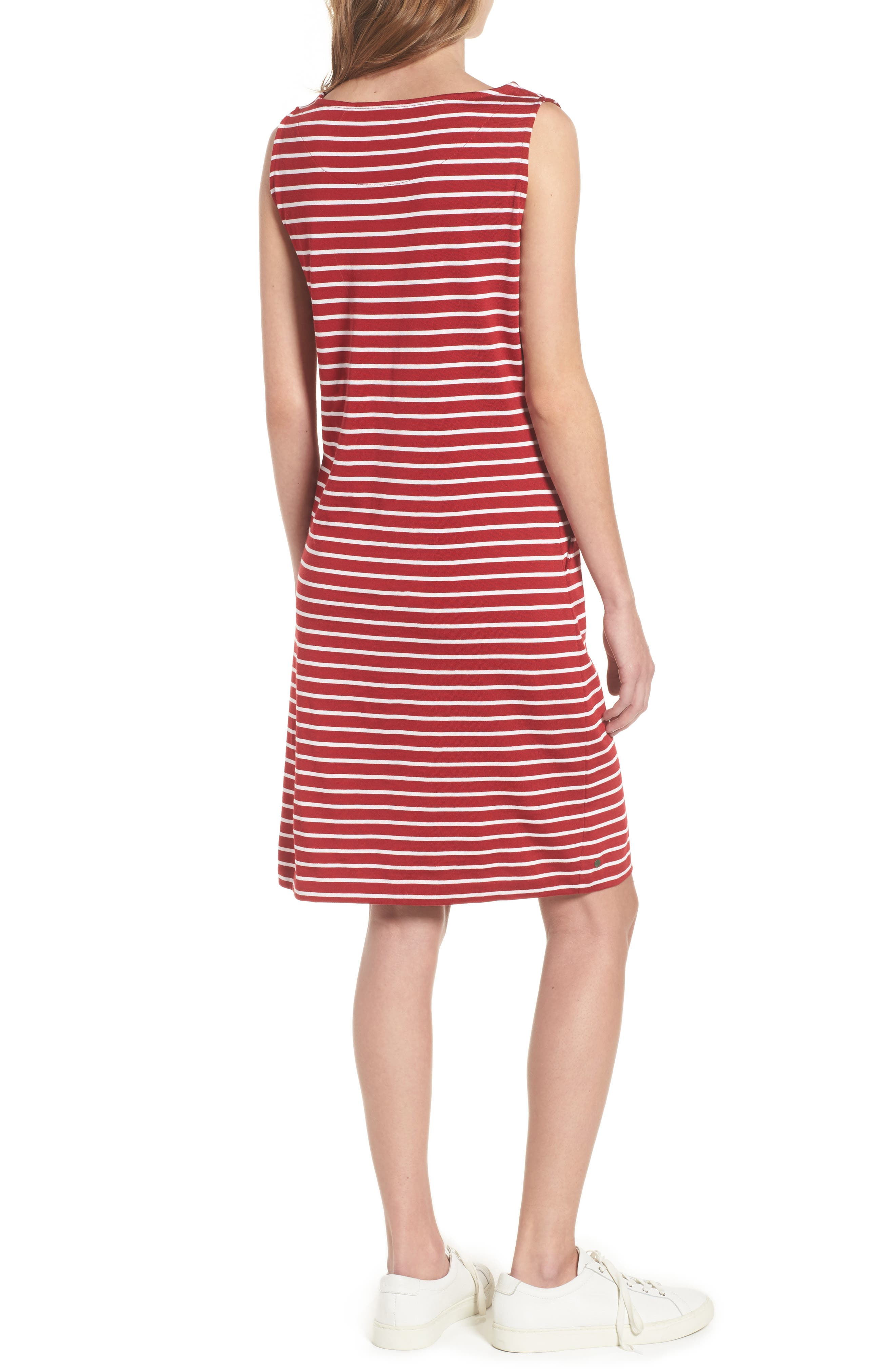 Dalmore Stripe Jersey Sleeveless Shift Dress,                             Alternate thumbnail 2, color,                             630