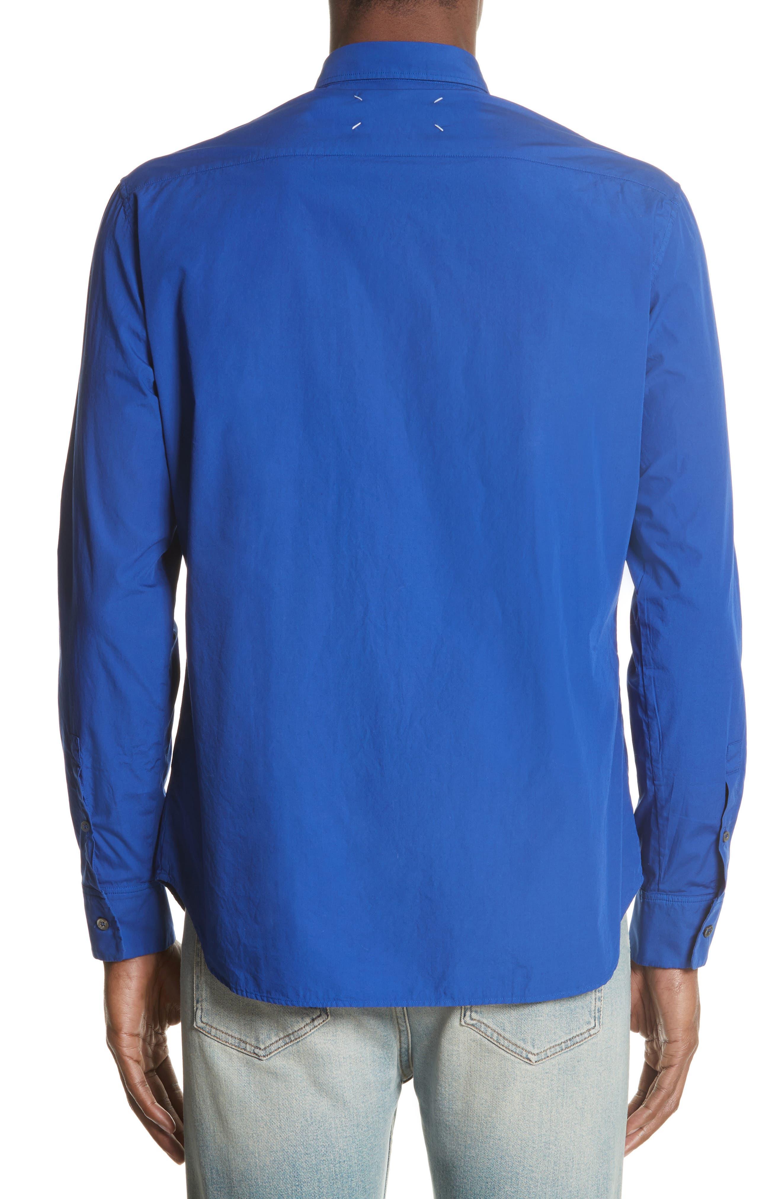 Poplin Shirt,                             Alternate thumbnail 2, color,                             400