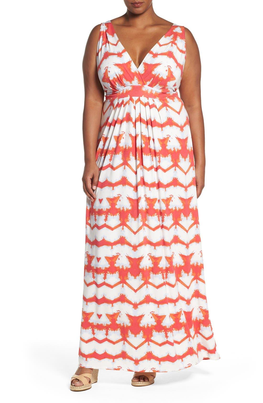 Chloe Empire Waist Maxi Dress,                             Main thumbnail 20, color,