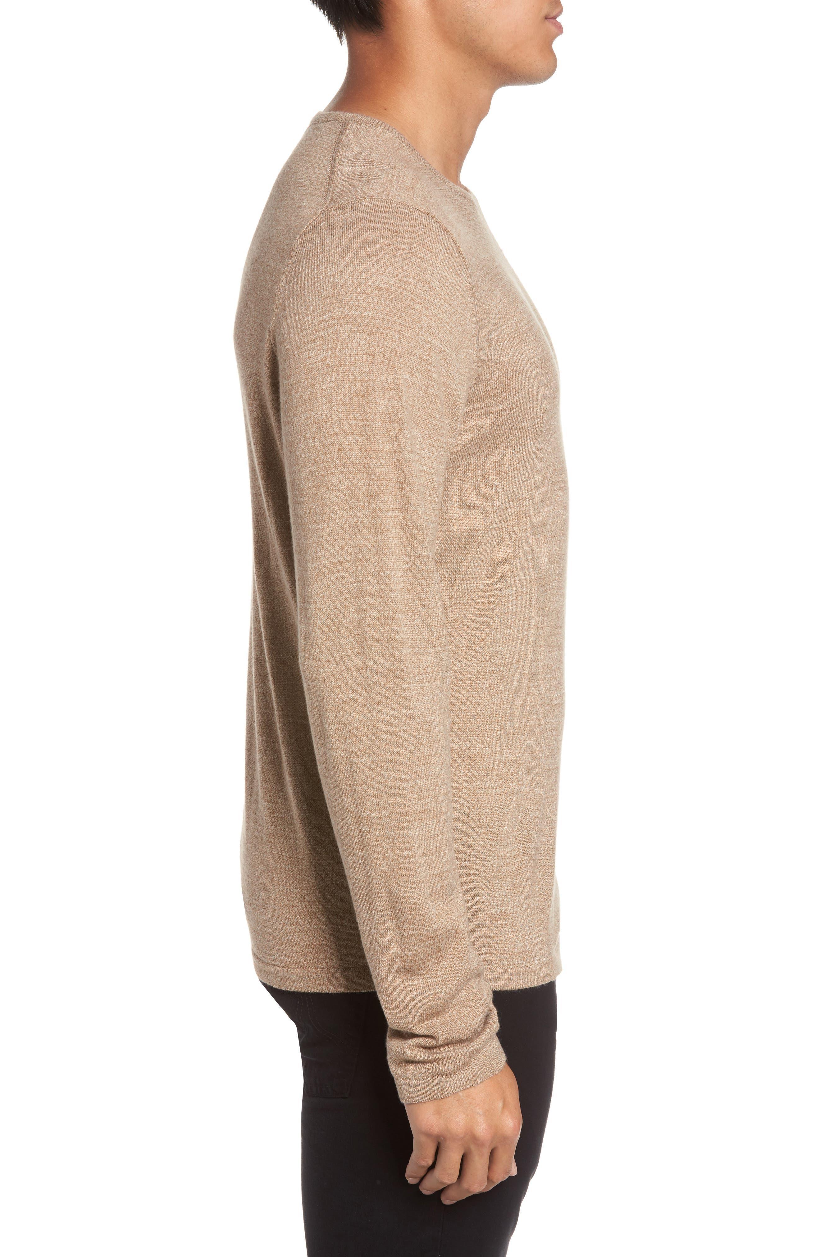 Merino Blend Crewneck Sweater,                             Alternate thumbnail 11, color,