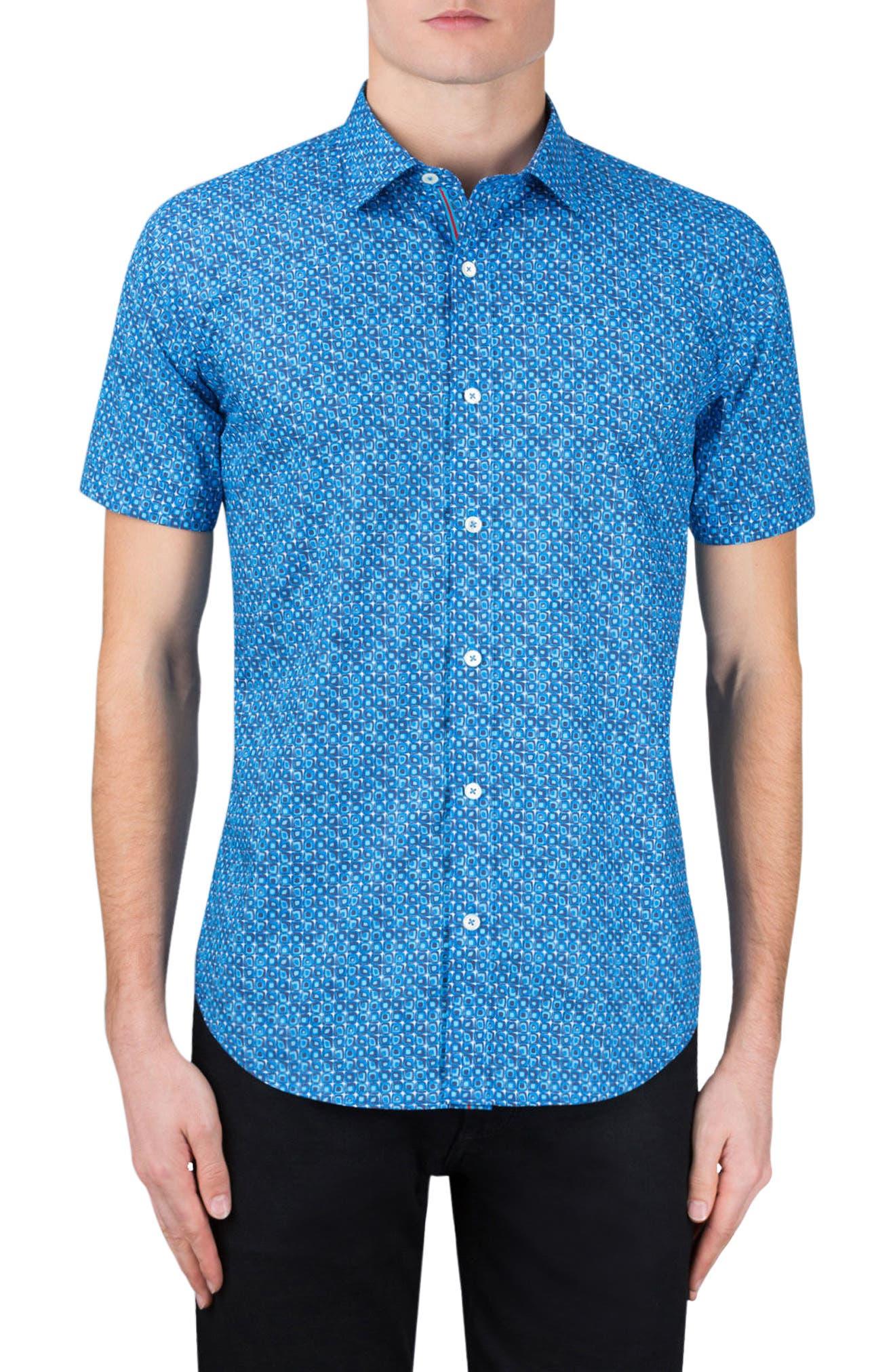 Classic Fit Print Sport Shirt,                         Main,                         color,