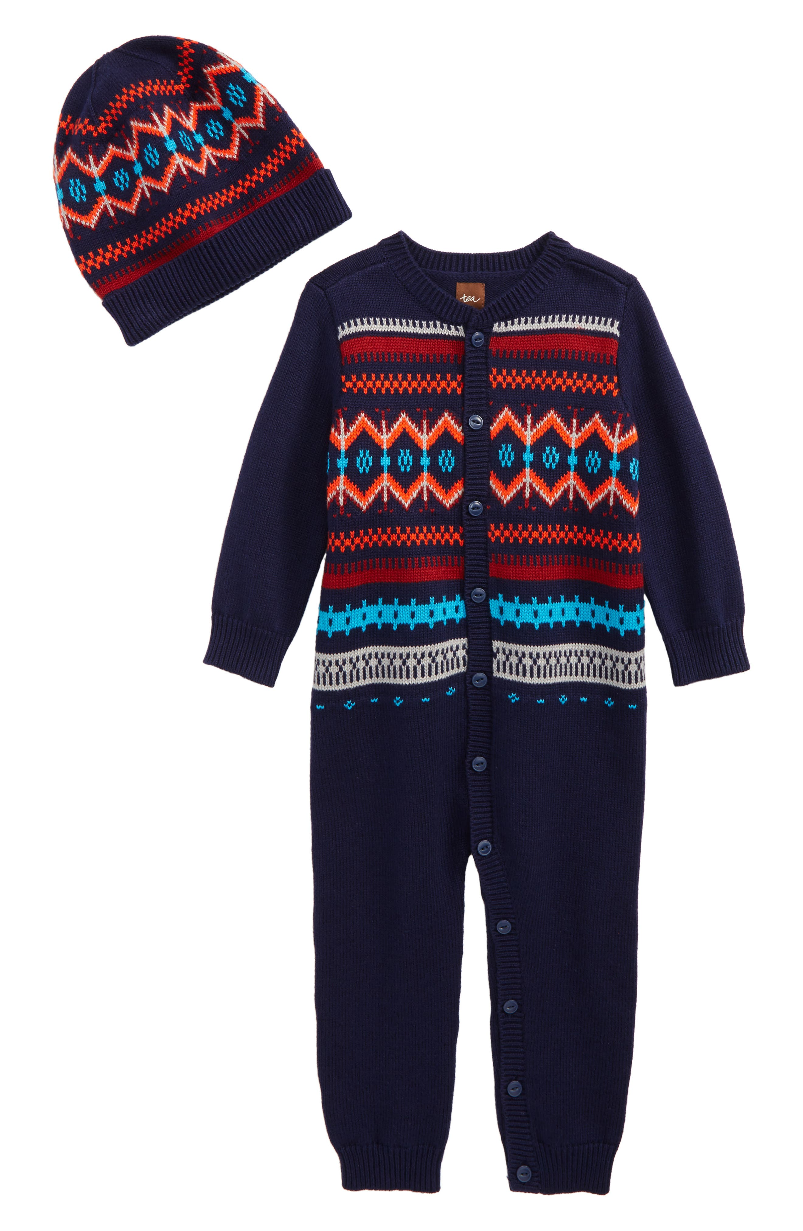 Niall Romper & Hat Set,                         Main,                         color, 480
