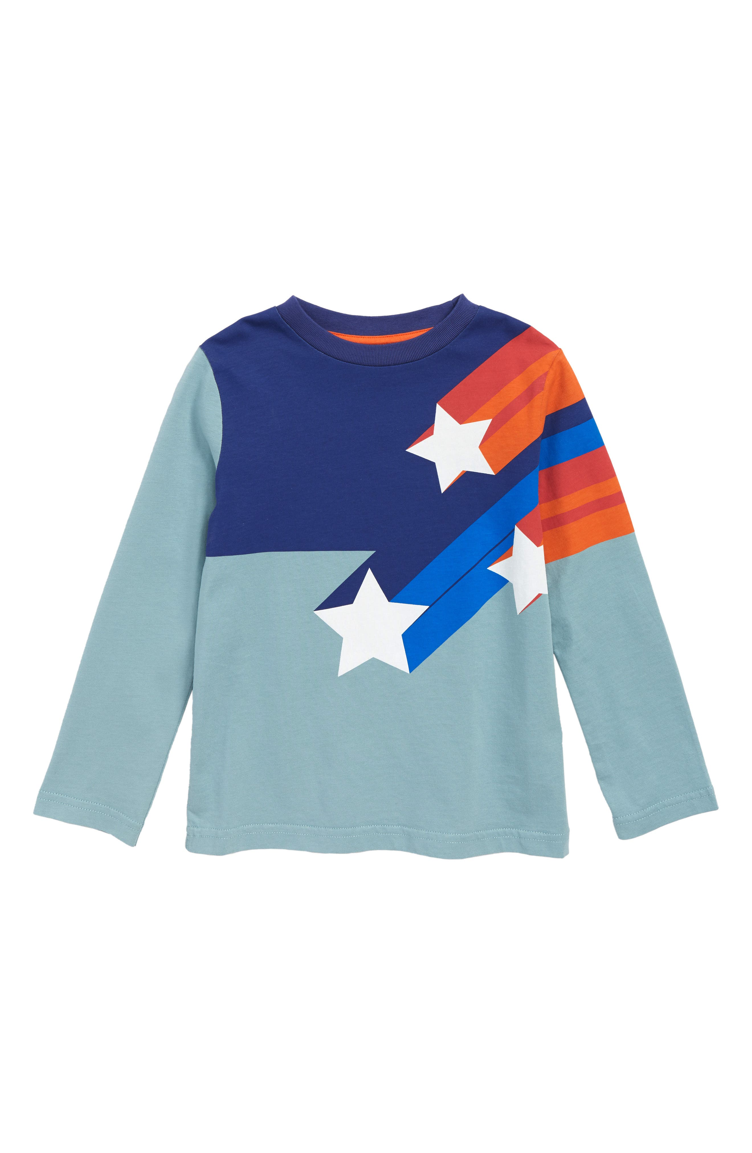 Shooting Stars Superstar T-Shirt,                             Main thumbnail 1, color,                             424