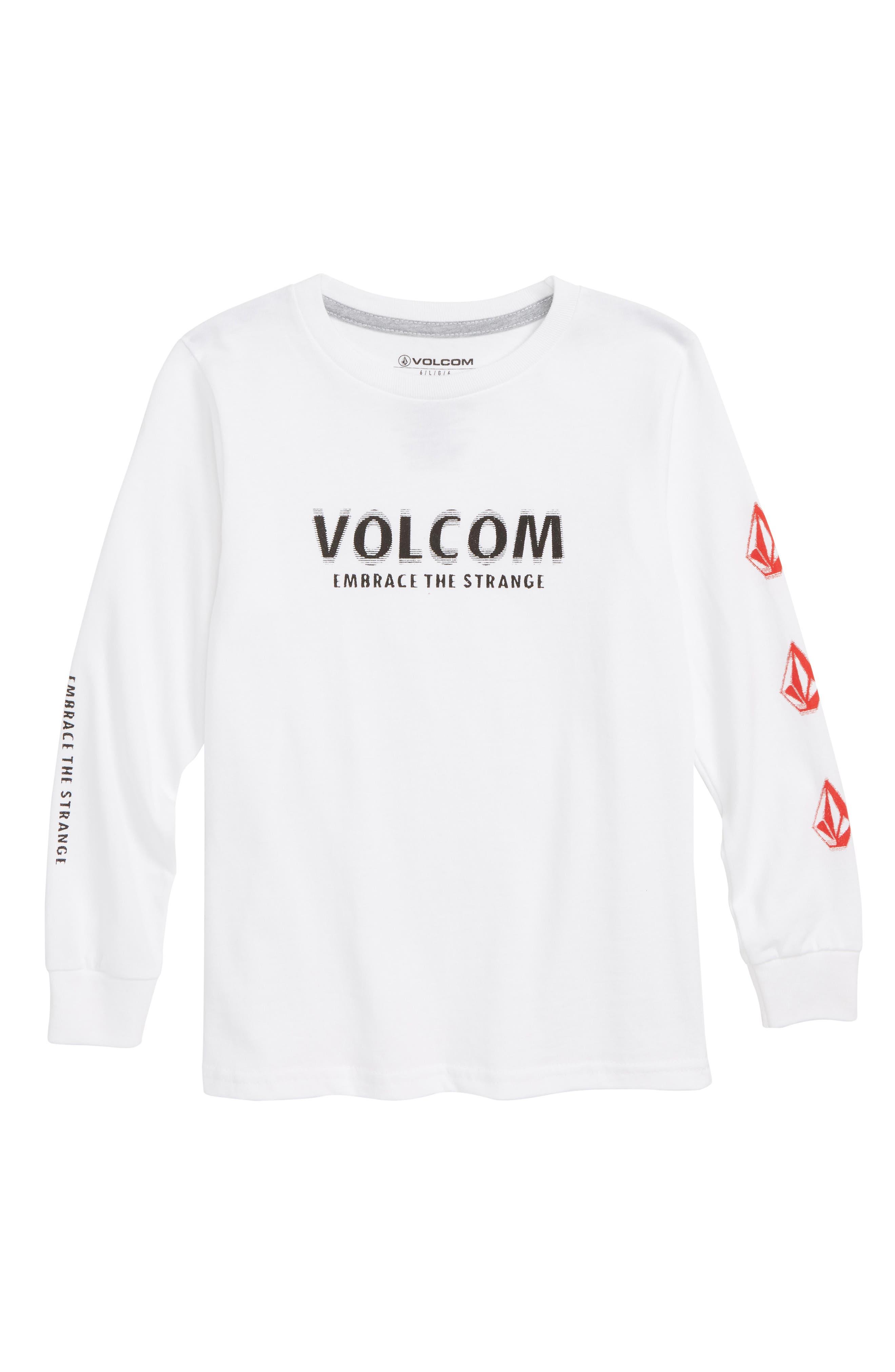 Embrace the Strange Long Sleeve T-Shirt,                             Main thumbnail 1, color,                             100