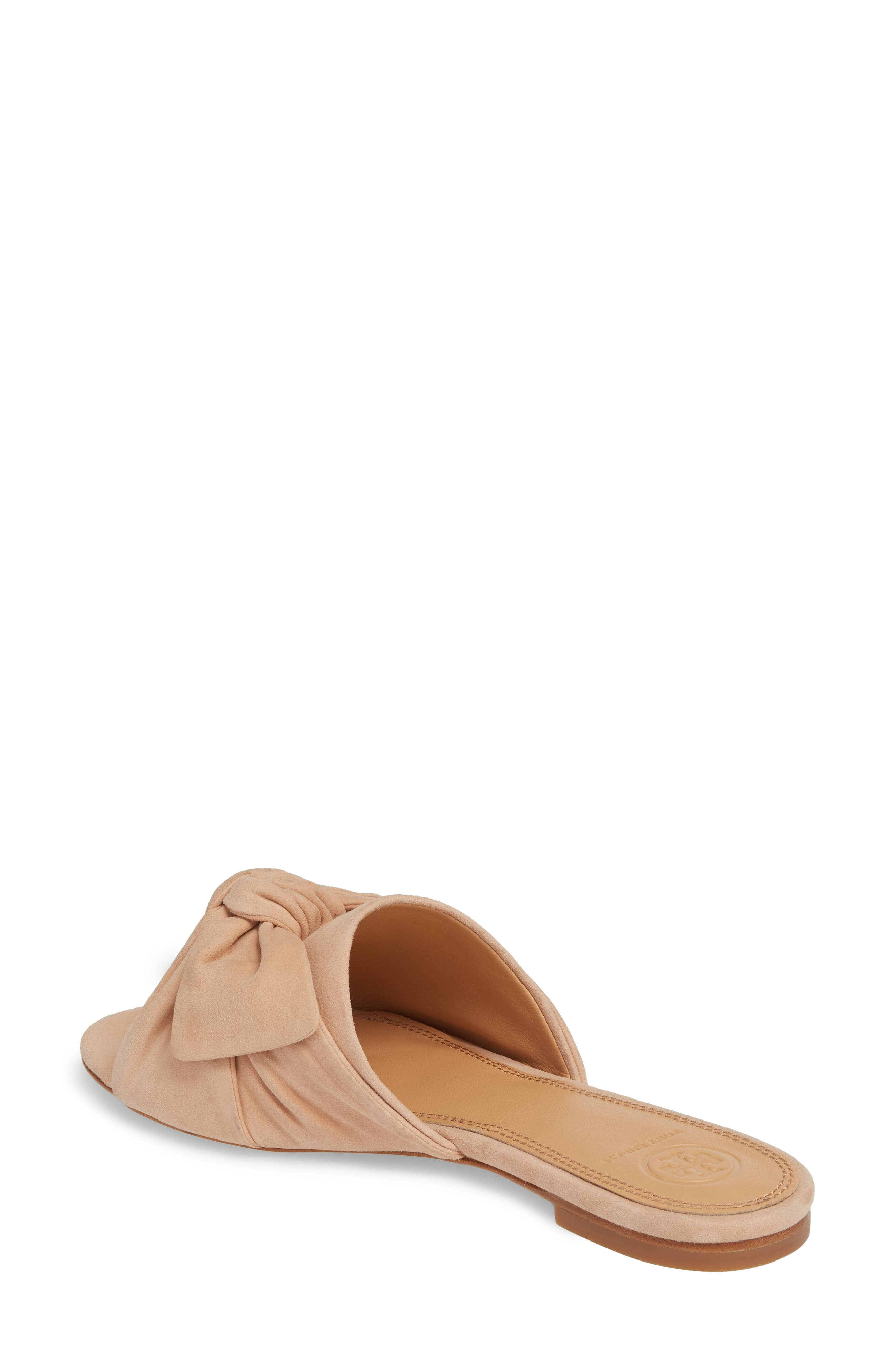 Annabelle Bow Slide Sandal,                             Alternate thumbnail 6, color,