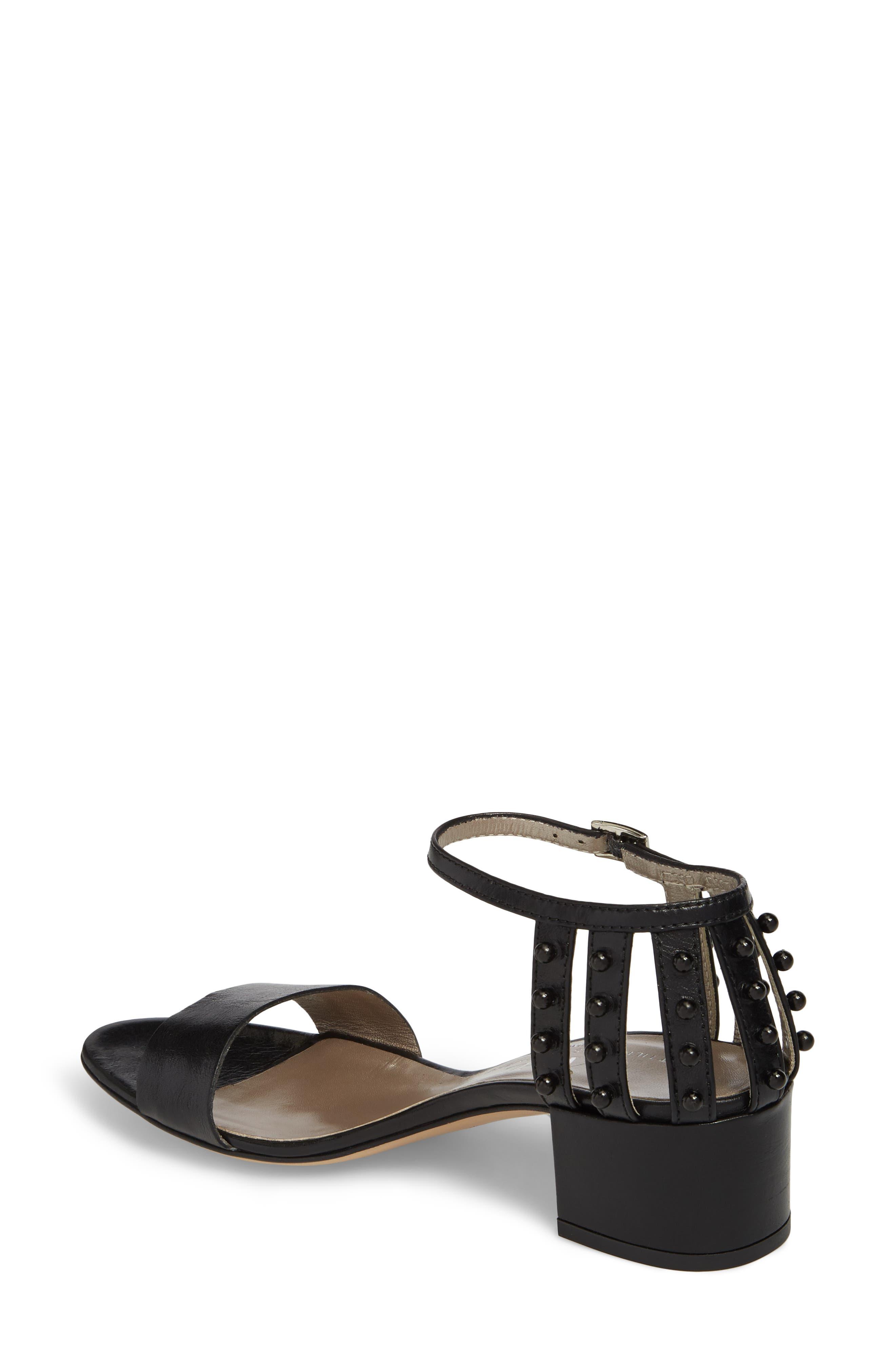 Embellished Ankle Strap Sandal,                             Alternate thumbnail 2, color,                             001