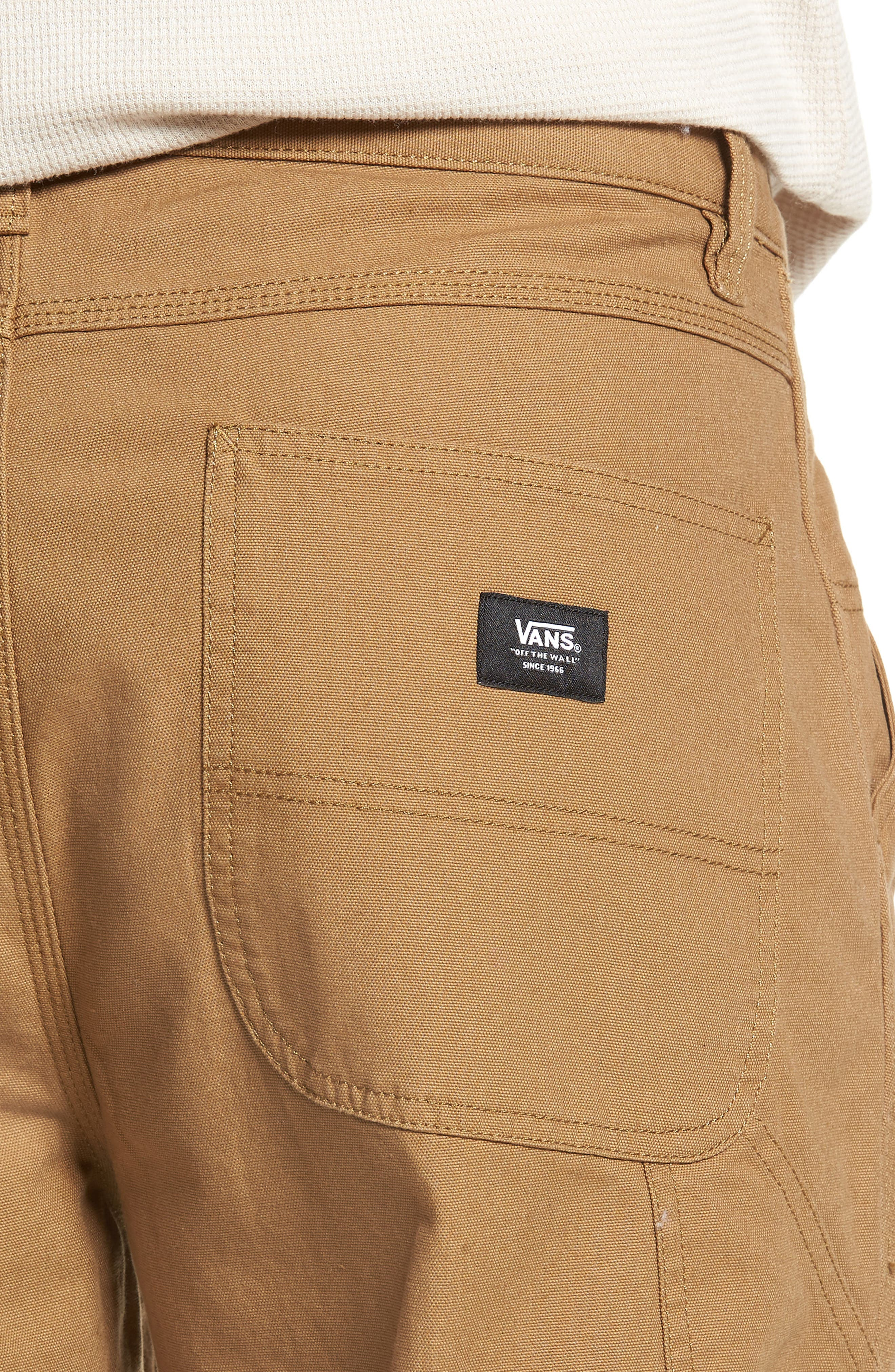 Hardware Straight Fit Carpenter Pants,                             Alternate thumbnail 4, color,                             DIRT