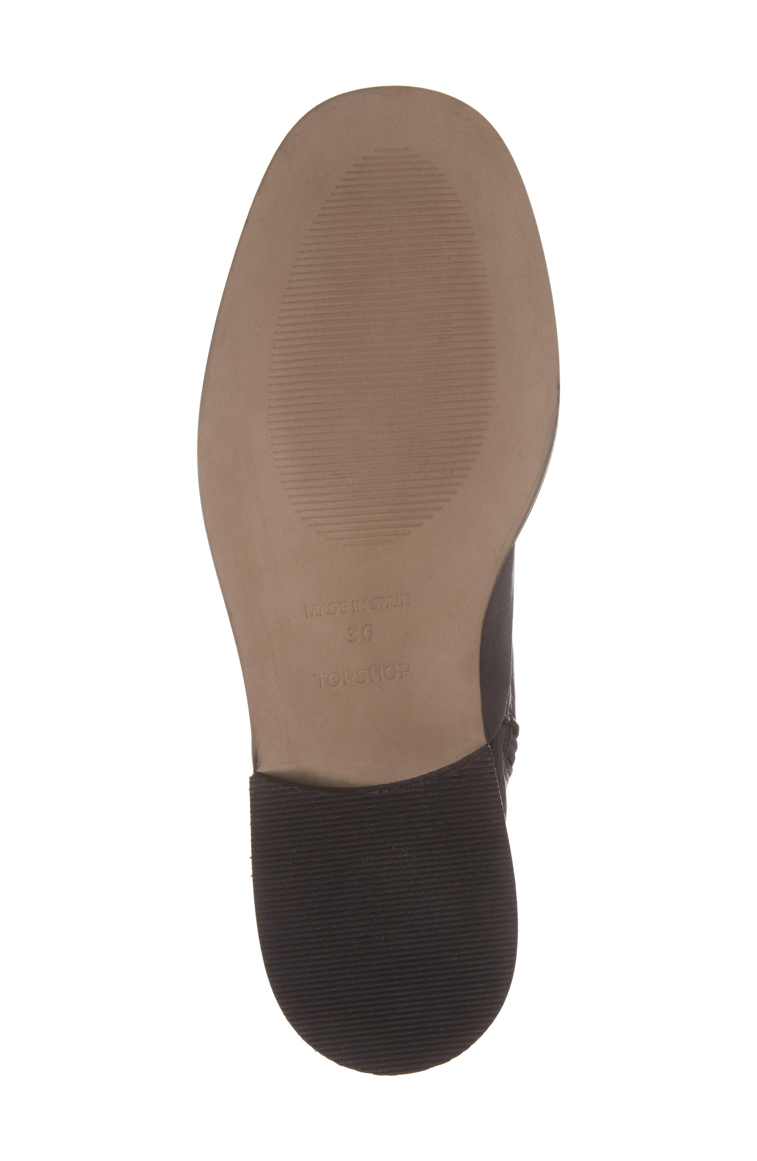 April Sock Boots,                             Alternate thumbnail 6, color,                             001