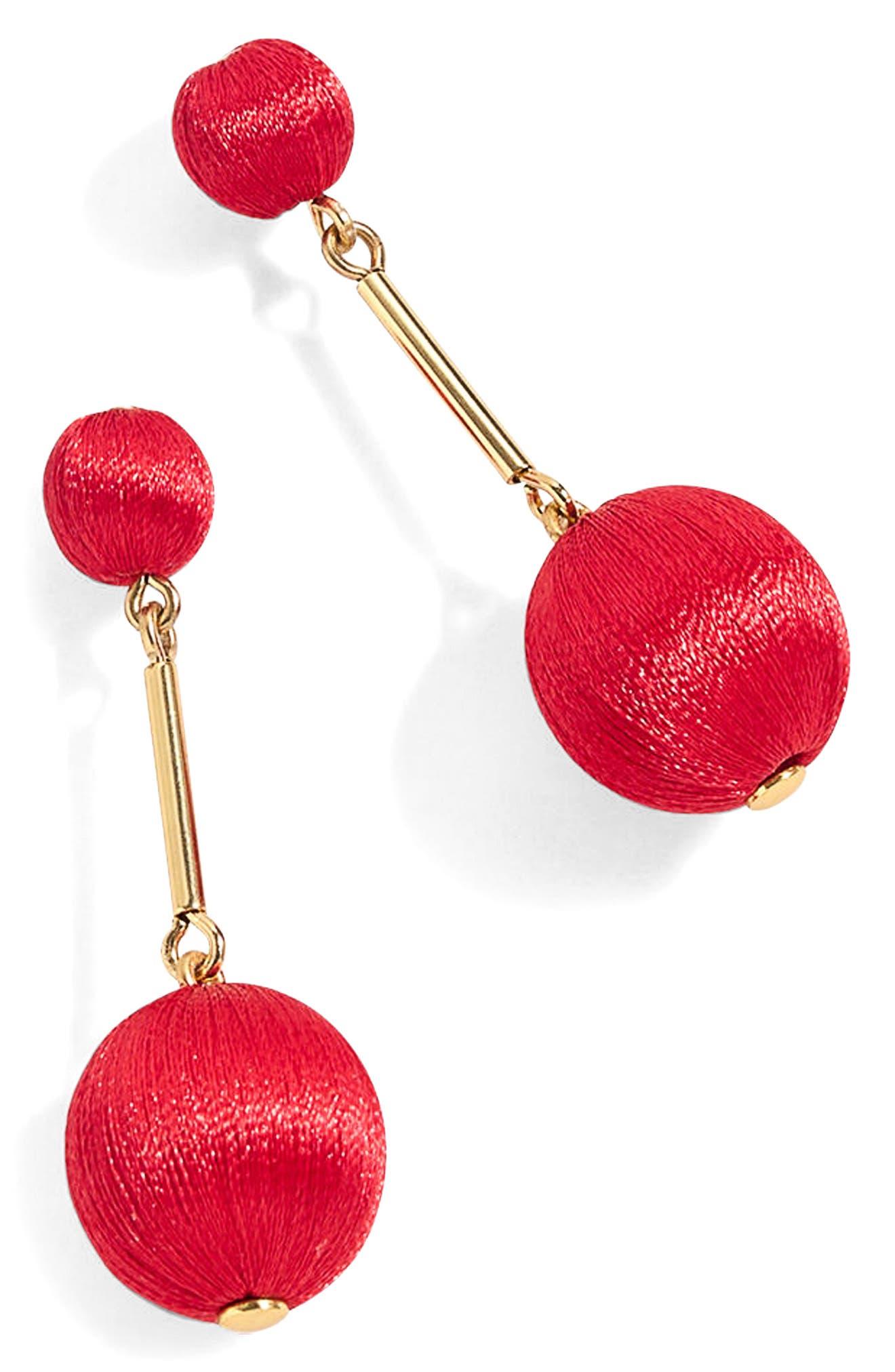 Thread Ball Swing Earrings,                             Main thumbnail 4, color,