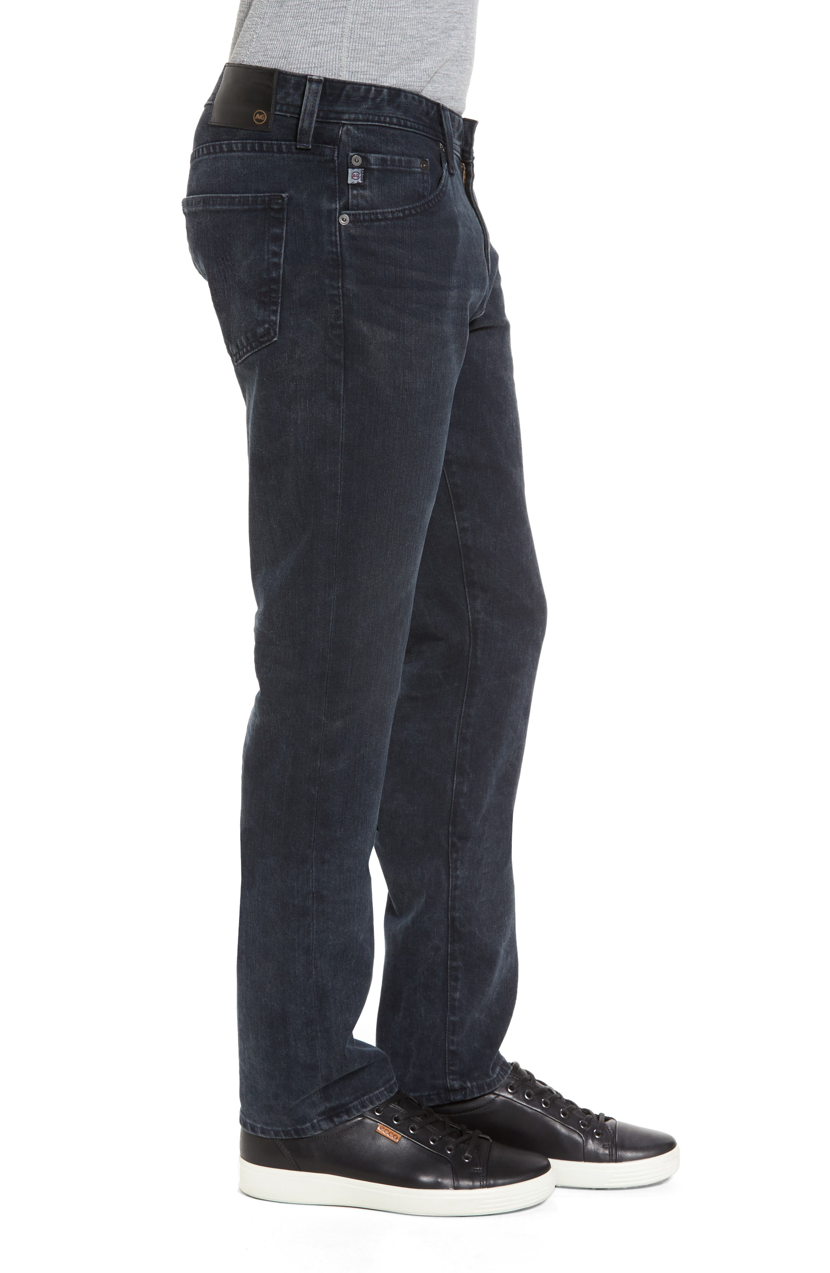 Graduate Slim Straight Leg Jeans,                             Alternate thumbnail 3, color,                             419