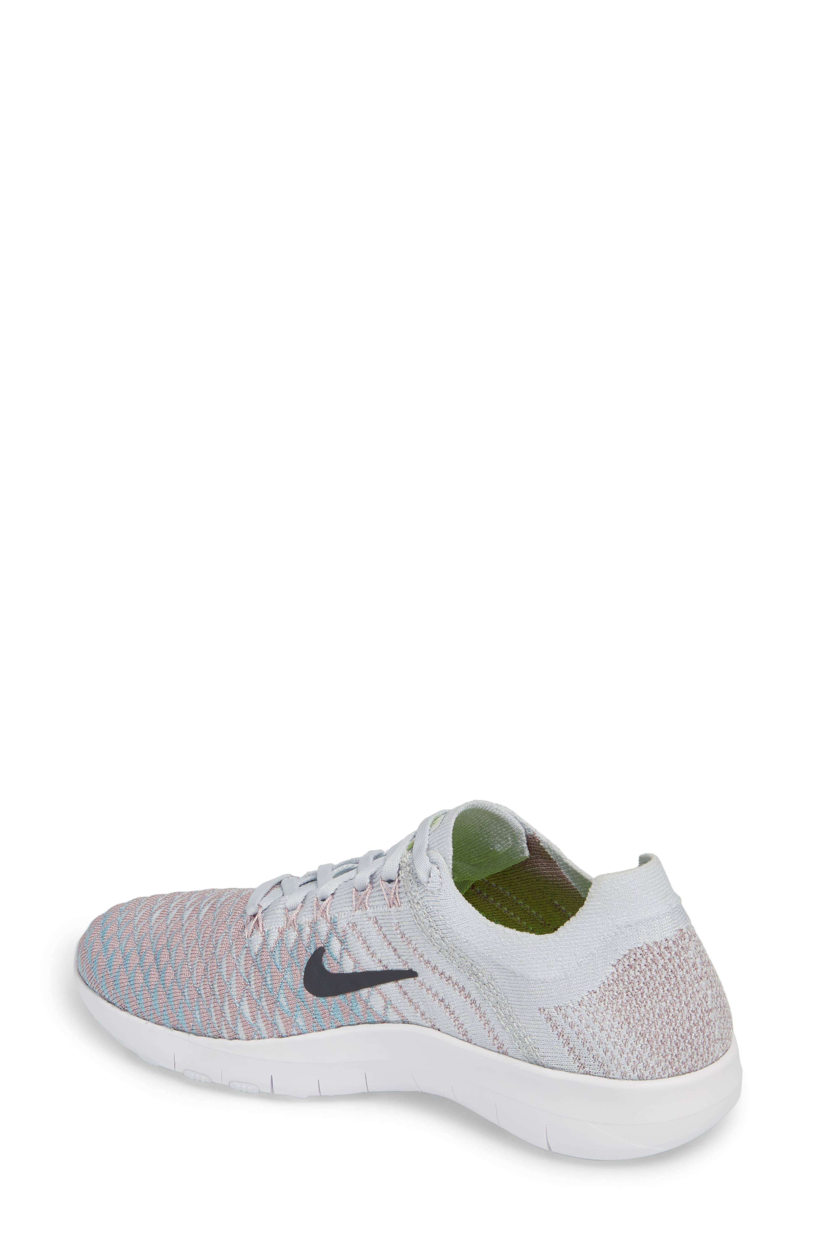 Free TR Flyknit 2 Training Shoe,                             Alternate thumbnail 6, color,