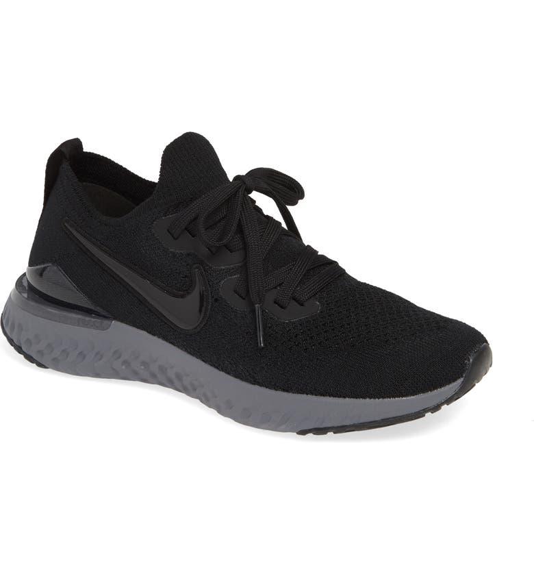 4b8500debc8 Nike Black And White Running Shoes Woman - Style Guru  Fashion ...